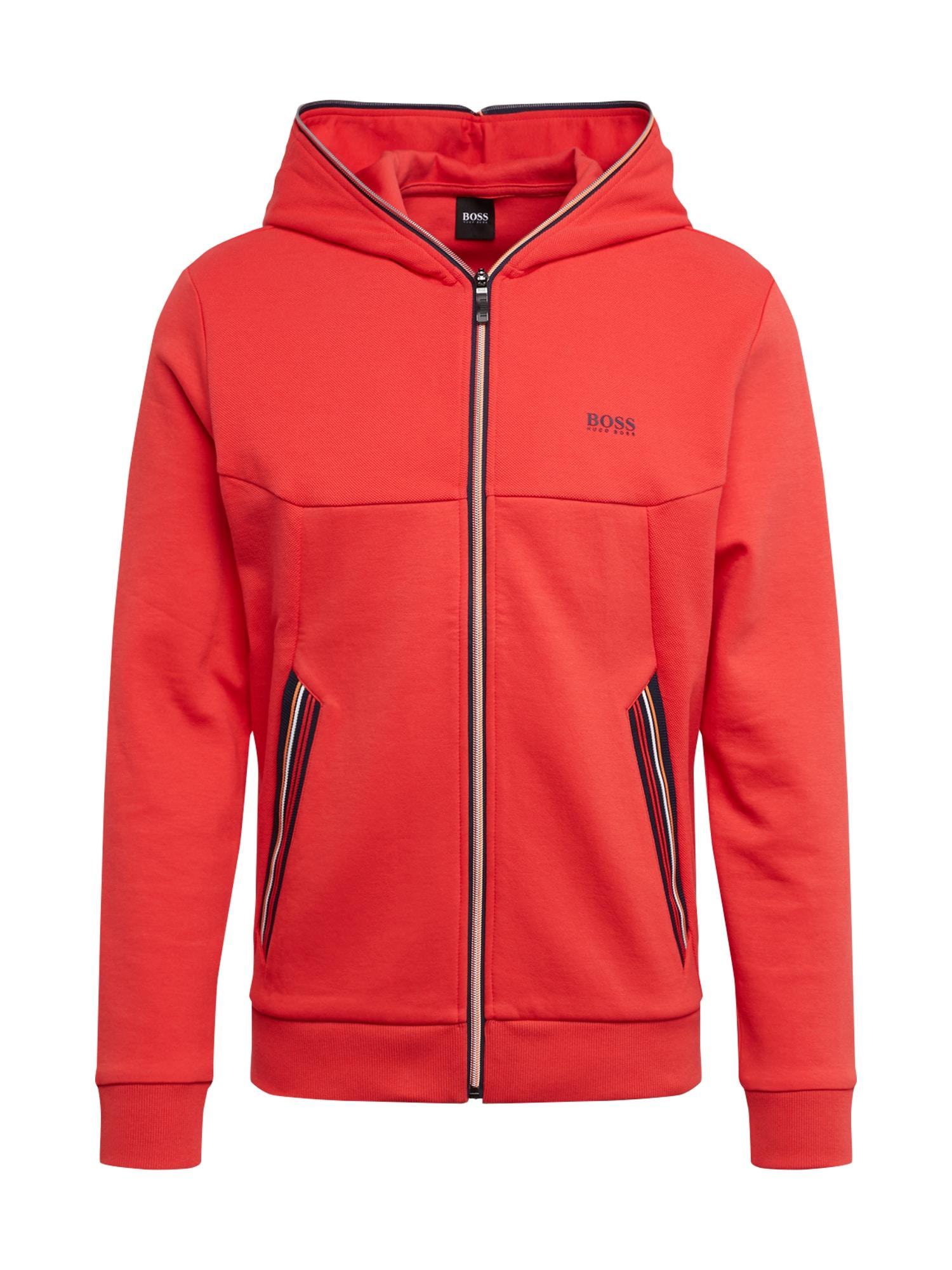 BOSS ATHLEISURE Sportinis džemperis 'Saggy 1' raudona