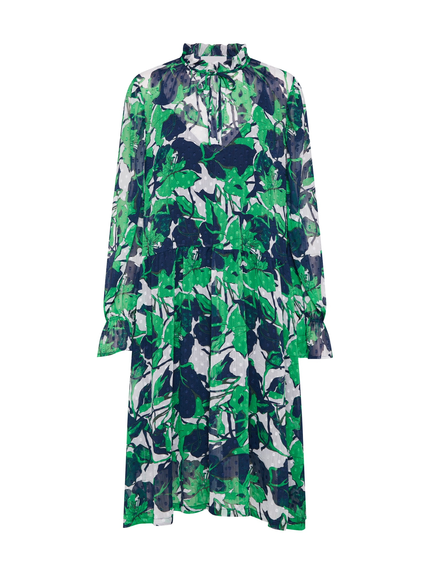 Letní šaty Joana zelená JUST FEMALE