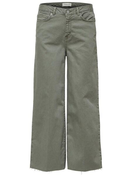 Hosen - Jeans › Selected Femme › oliv  - Onlineshop ABOUT YOU