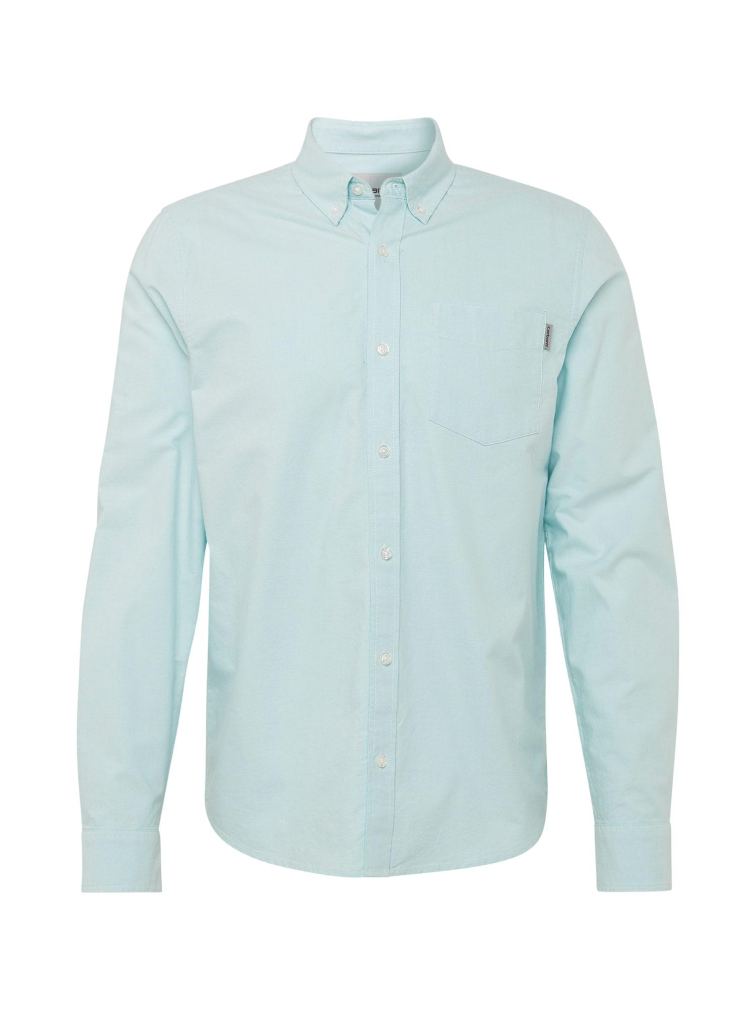 Carhartt WIP Dalykiniai marškiniai mėtų spalva