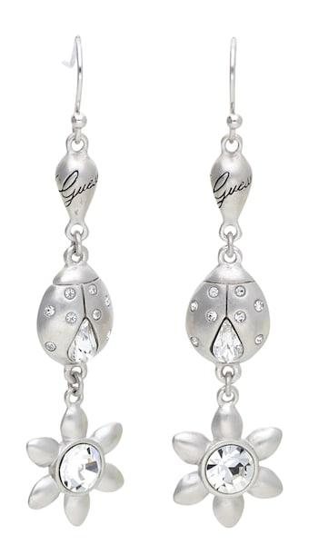 Ohrringe für Frauen - GUESS Ohrringe 'UBE31213' silber  - Onlineshop ABOUT YOU