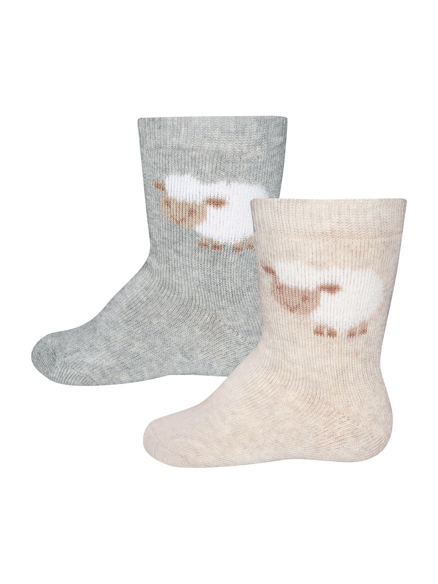 EWERS Ponožky  sivá / béžová