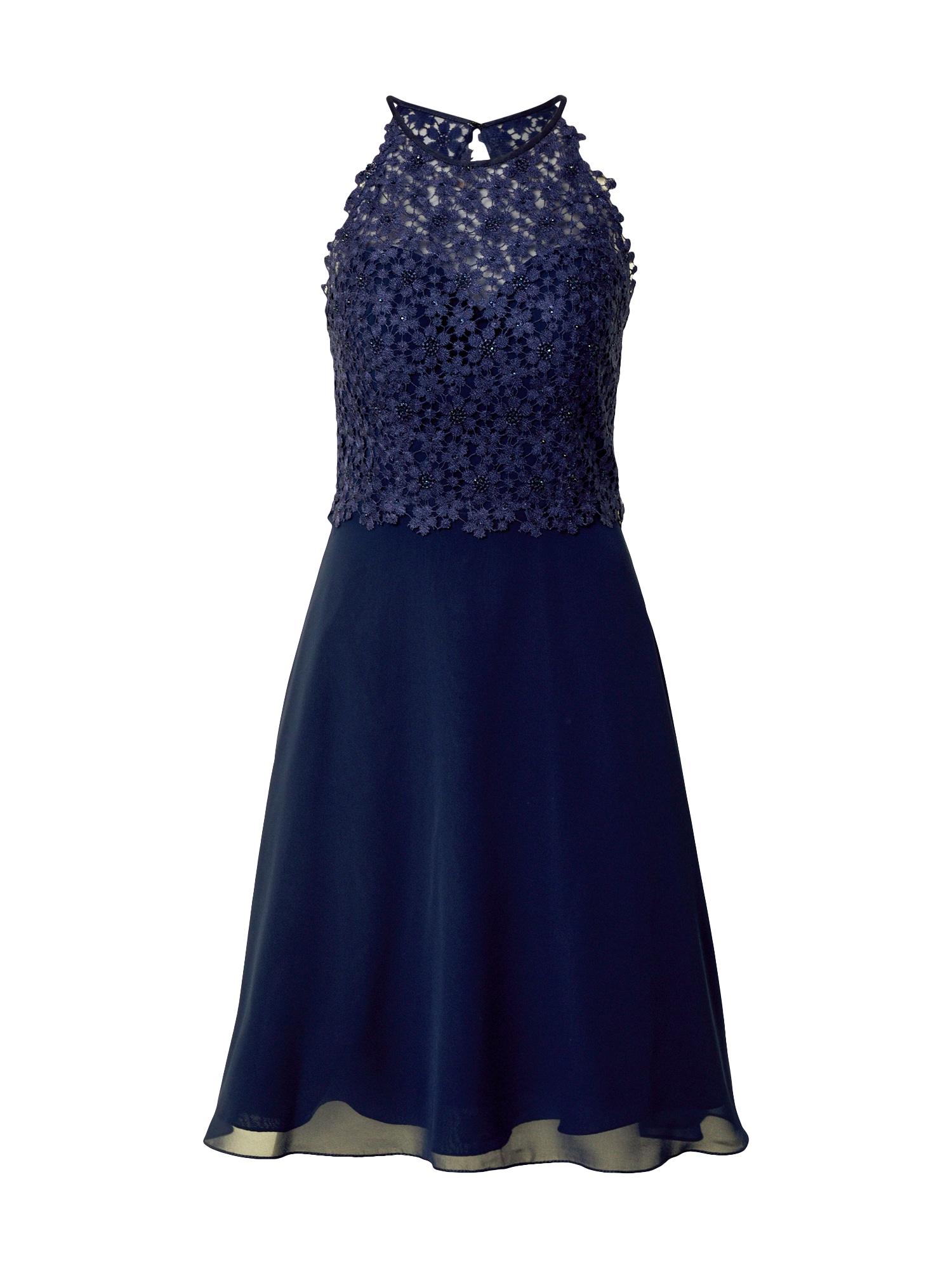 LUXUAR Kokteilinė suknelė nakties mėlyna