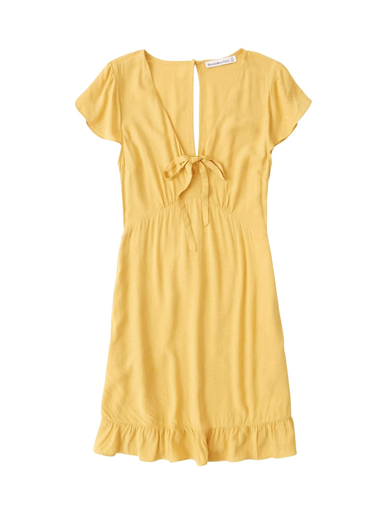 Abercrombie & Fitch Vasarinė suknelė 'Babydoll' geltona