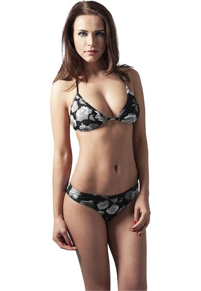 Bademode - Bikini › Urban Classics › hellgrau schwarz  - Onlineshop ABOUT YOU