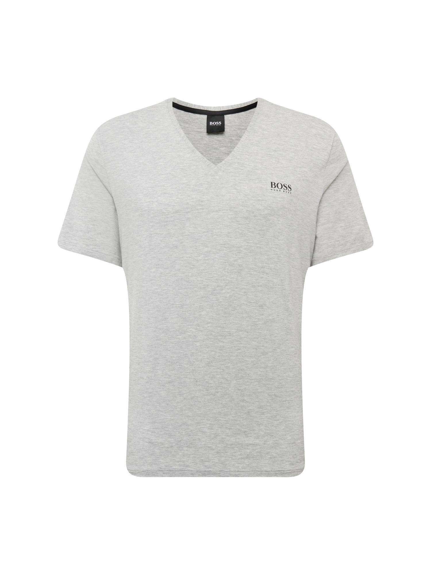BOSS Marškinėliai 'Comfort' tamsiai pilka
