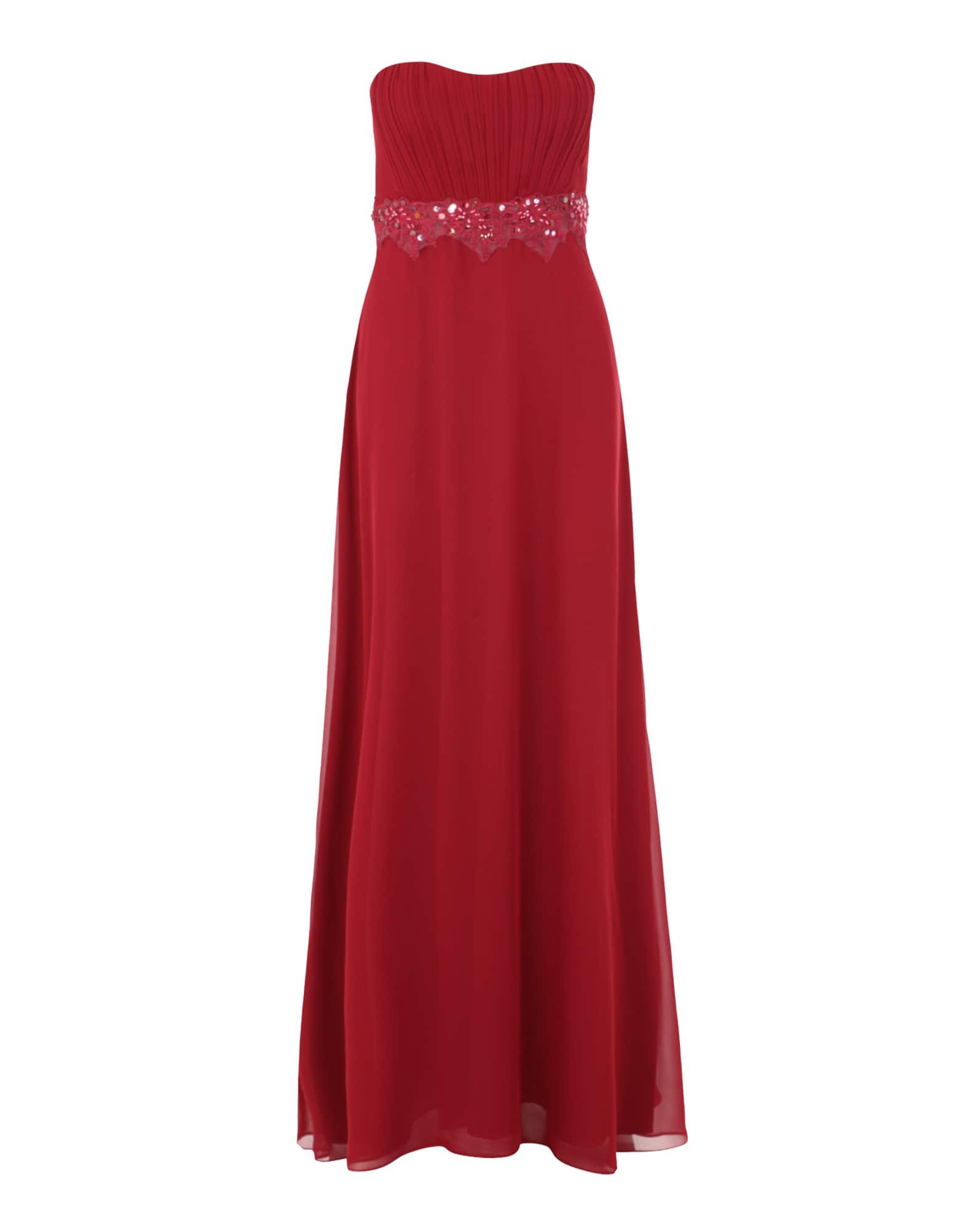VM Vera Mont Vakarinė suknelė tamsiai raudona