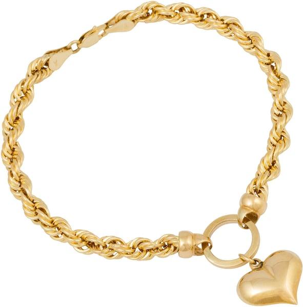 Armbaender für Frauen - FIRETTI Armband 'Herz' gold  - Onlineshop ABOUT YOU