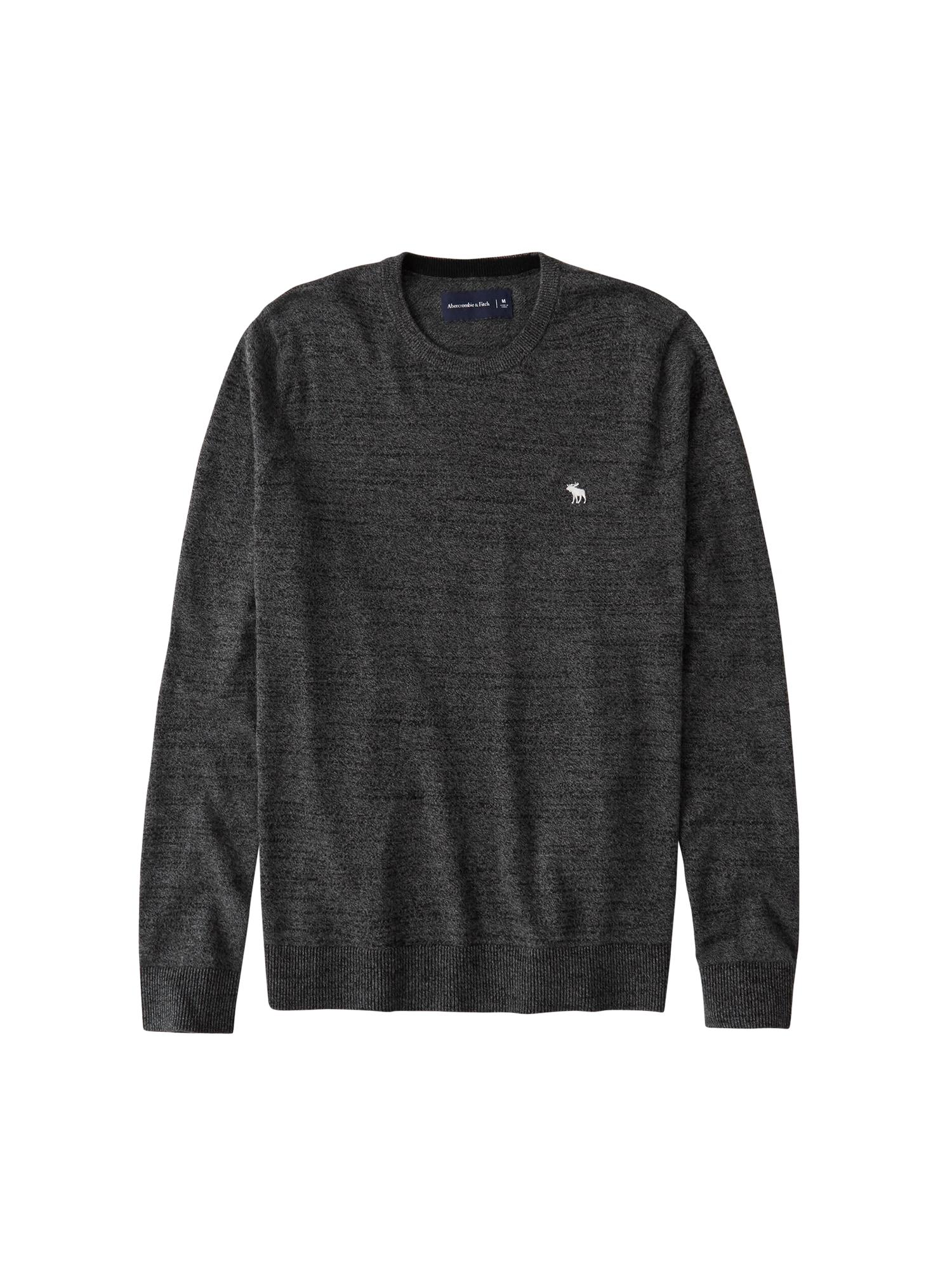 Abercrombie & Fitch Megztinis tamsiai pilka