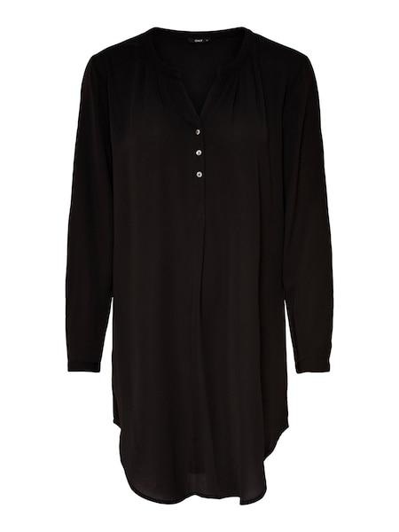 Oberteile für Frauen - ONLY Langarmhemd schwarz  - Onlineshop ABOUT YOU