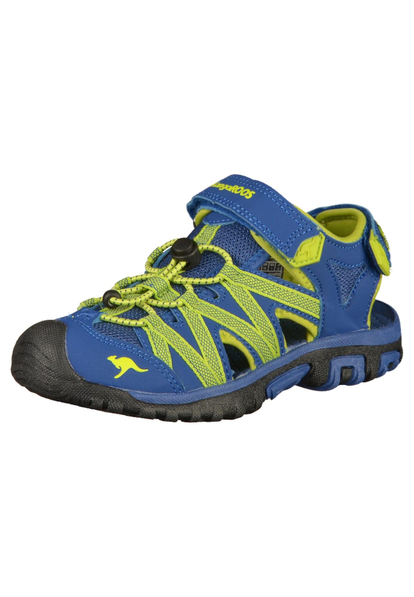 KangaROOS Atviri batai obuolių spalva / mėlyna