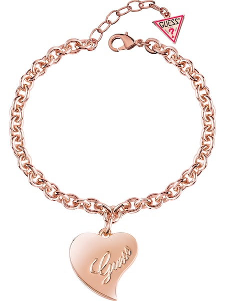 Armbaender für Frauen - GUESS Armband 'Guess Love' rosegold  - Onlineshop ABOUT YOU