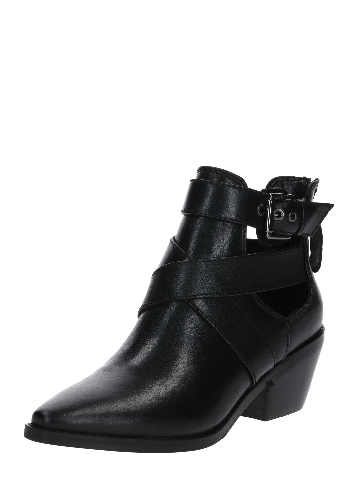 GUESS Kulkšnis dengiantys batai 'NEVIAH' juoda