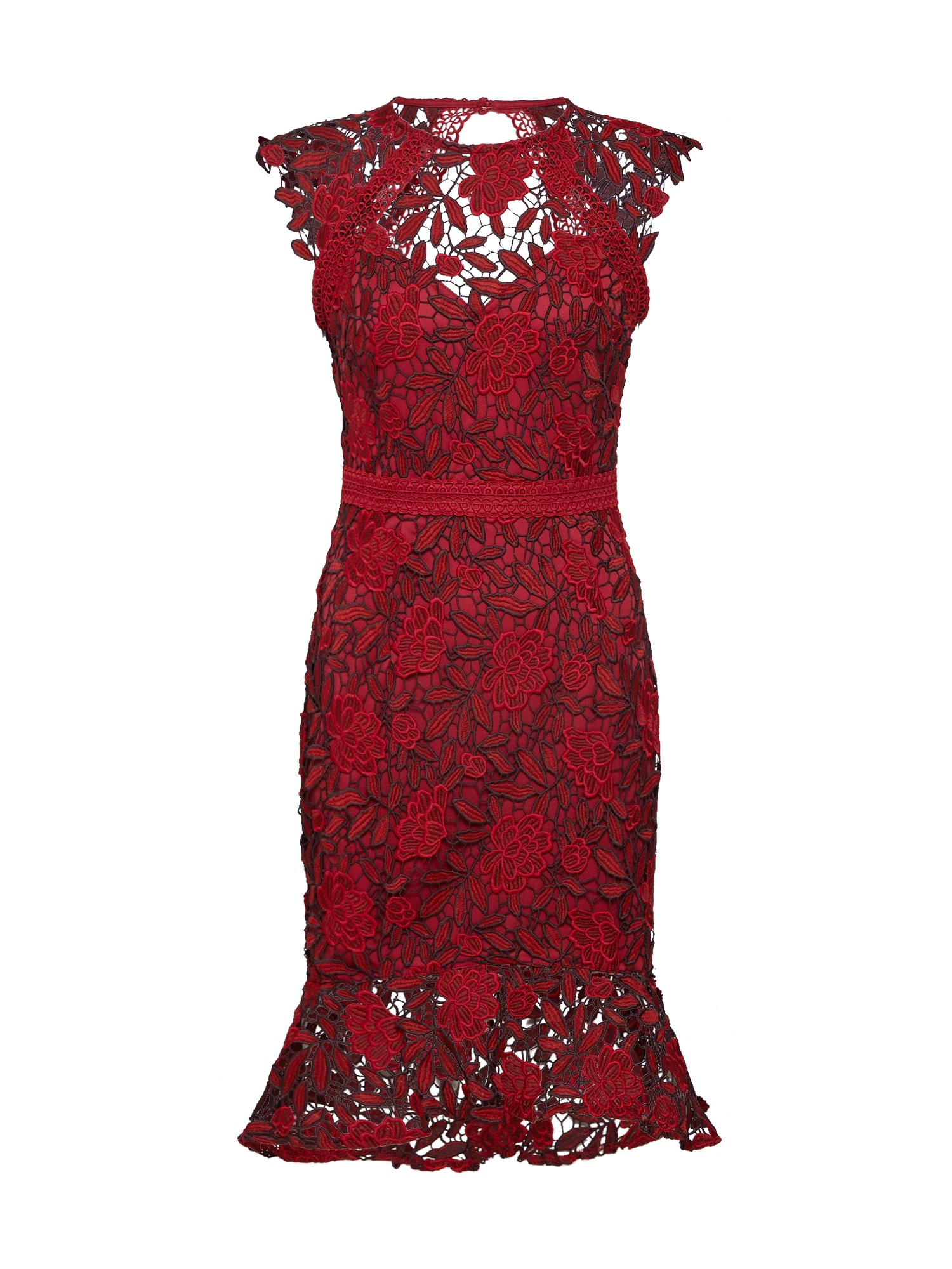 Cocktailkleid 'RED AO LACE DRESS(KATE MOVE ON)' | Bekleidung > Kleider > Cocktailkleider | Lipsy