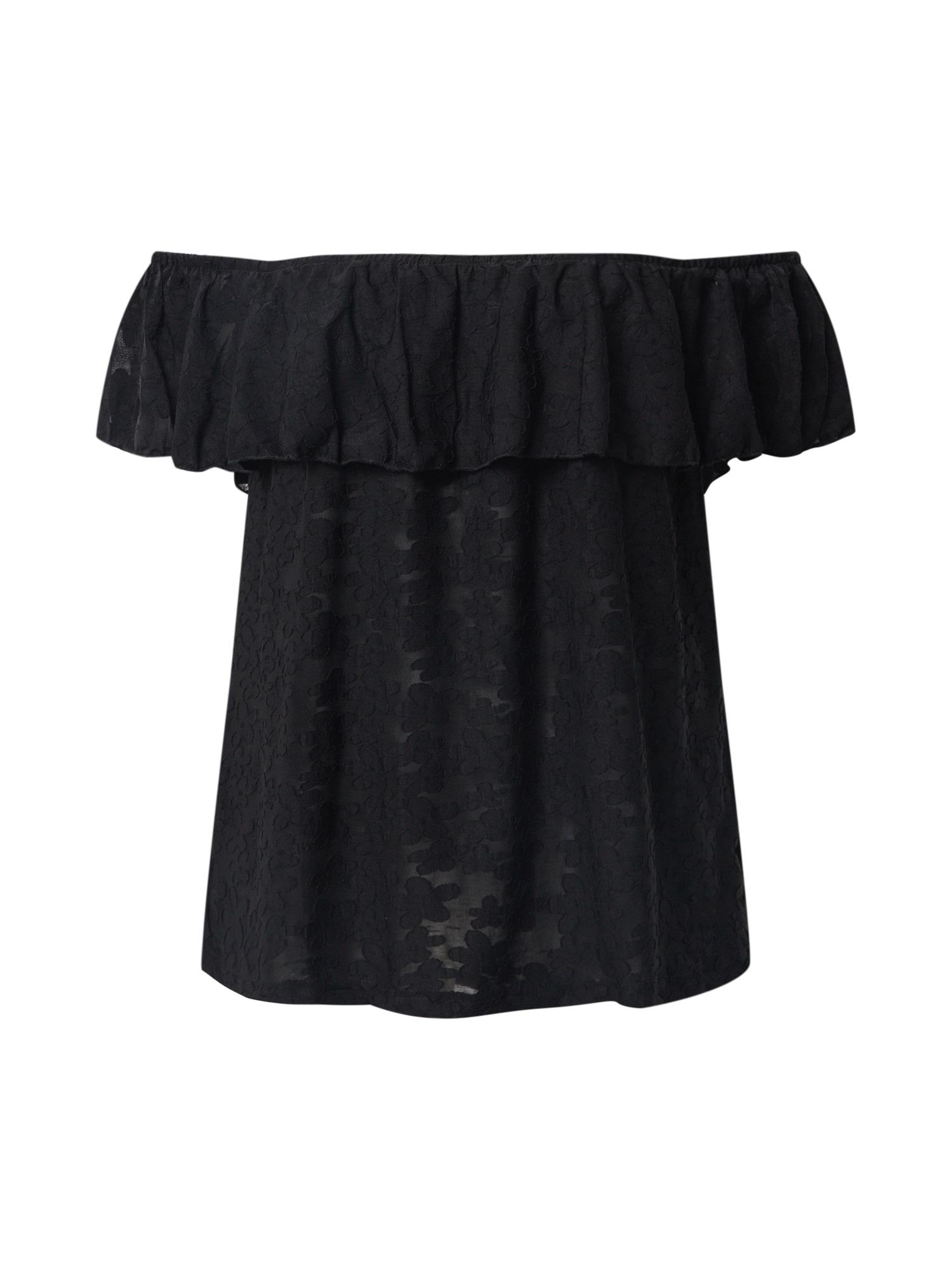 ABOUT YOU Marškinėliai 'Nelly' juoda
