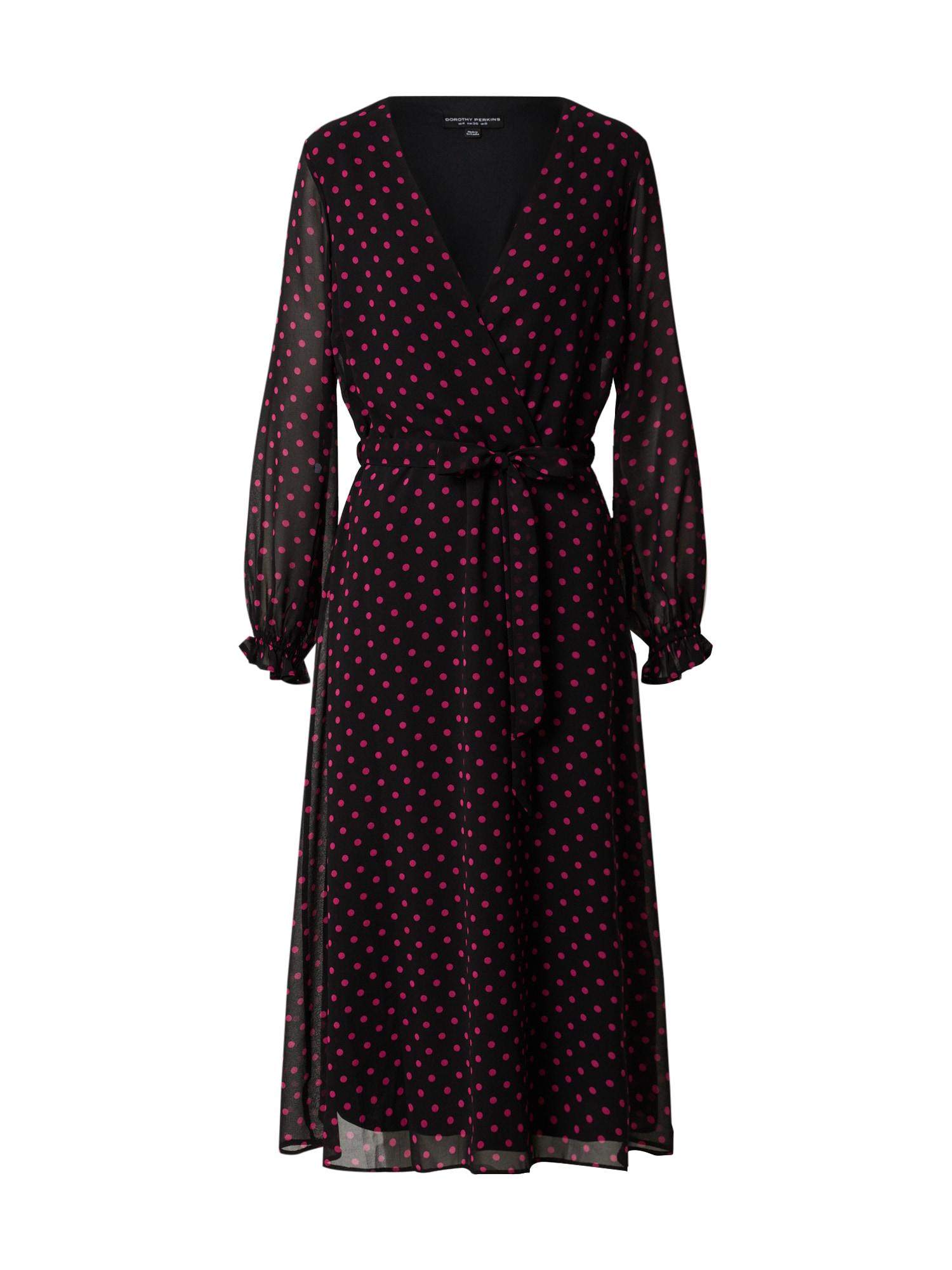 Dorothy Perkins Suknelė raudona / juoda