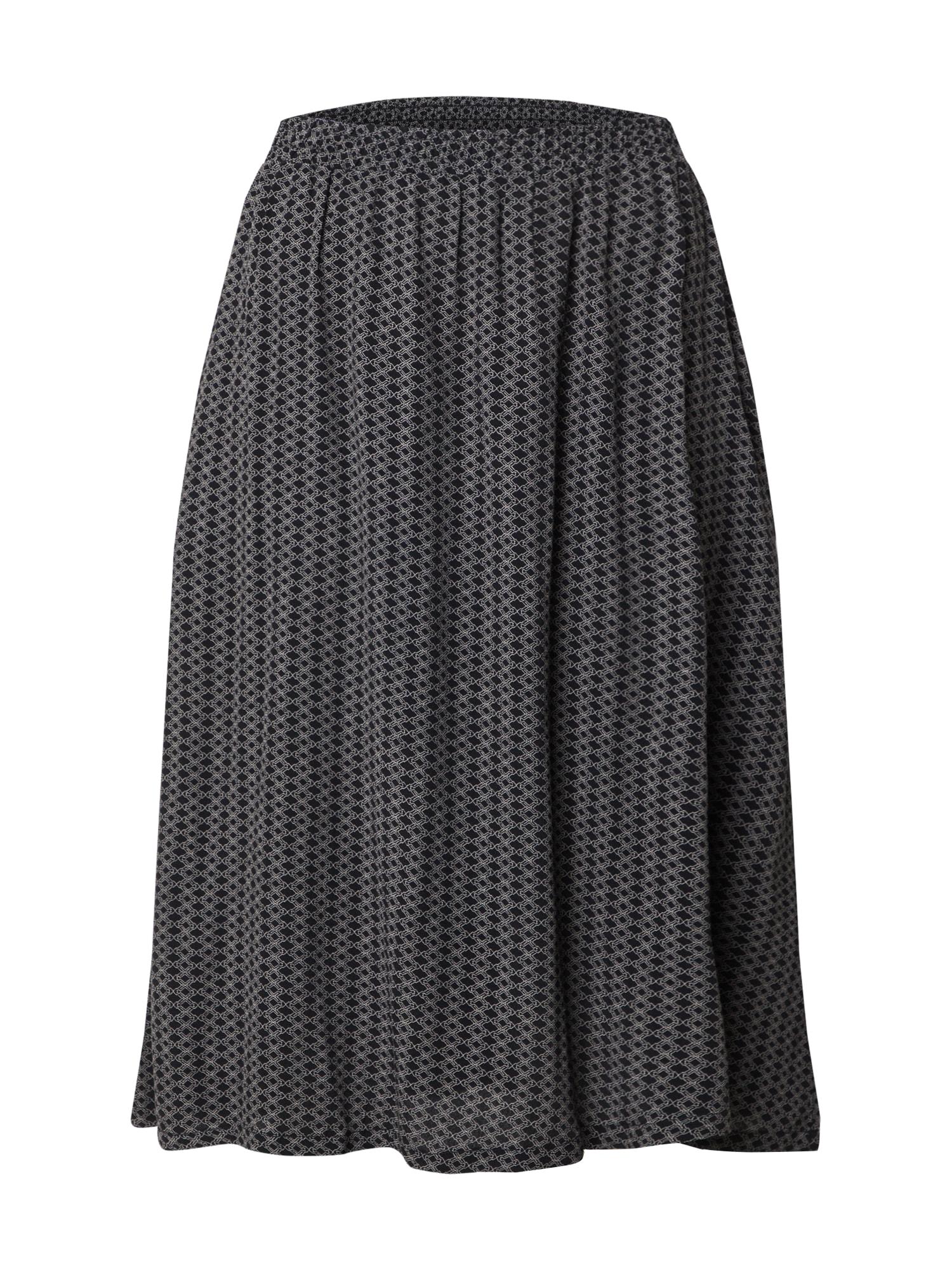 basic apparel Sijonas 'Elly' juoda