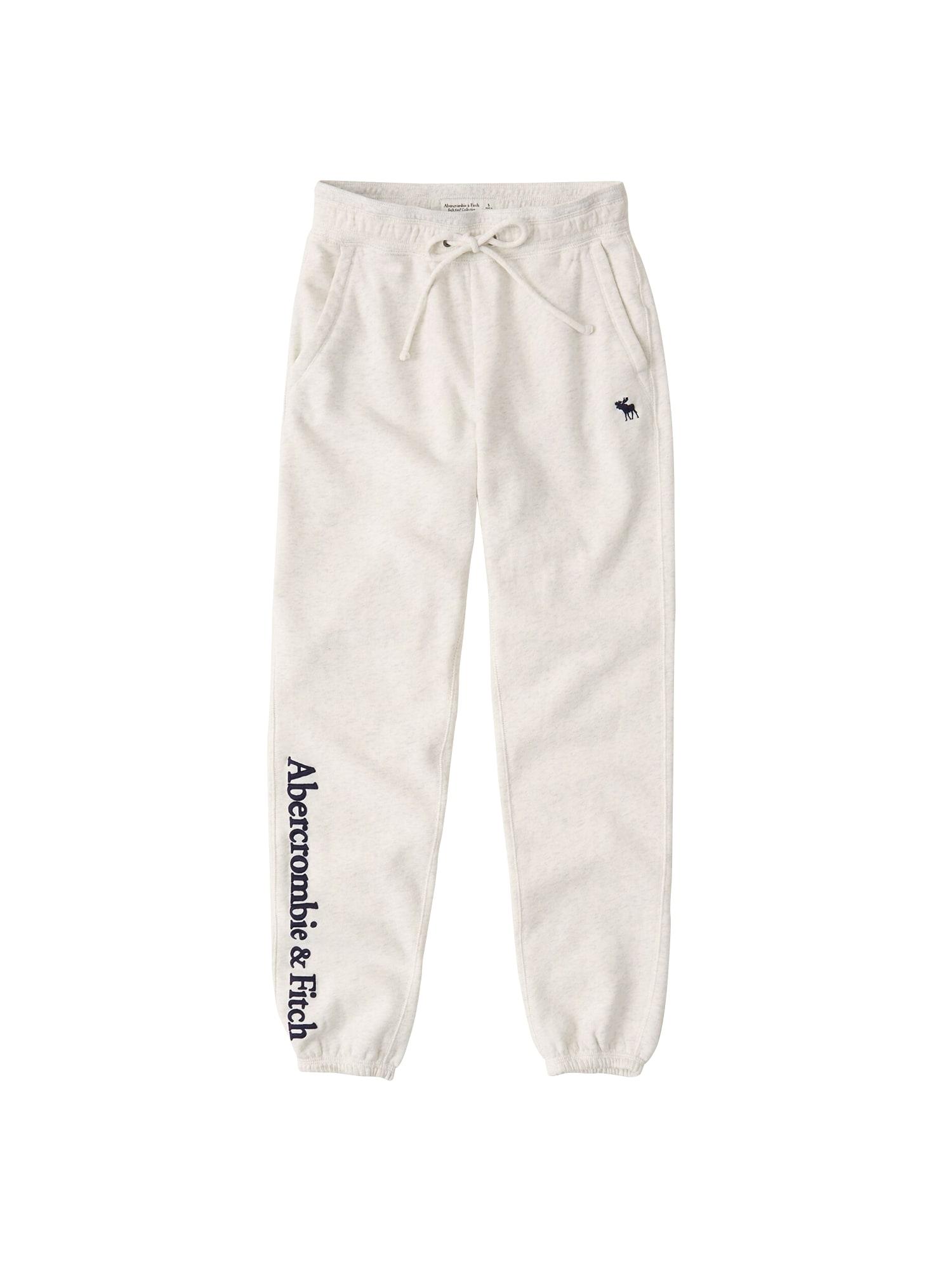 Abercrombie & Fitch Kelnės šviesiai pilka