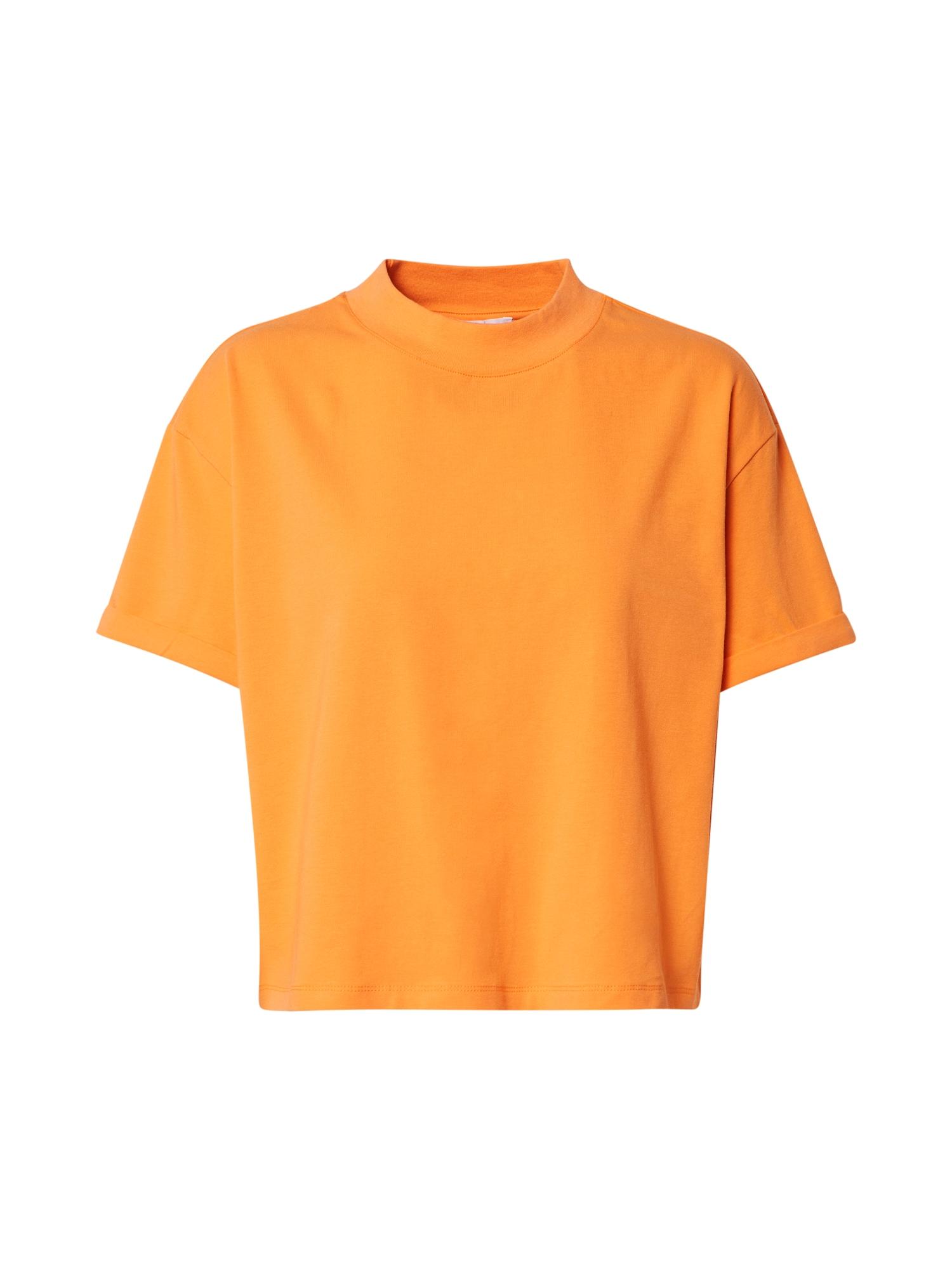 EDITED Marškinėliai 'Louna' oranžinė