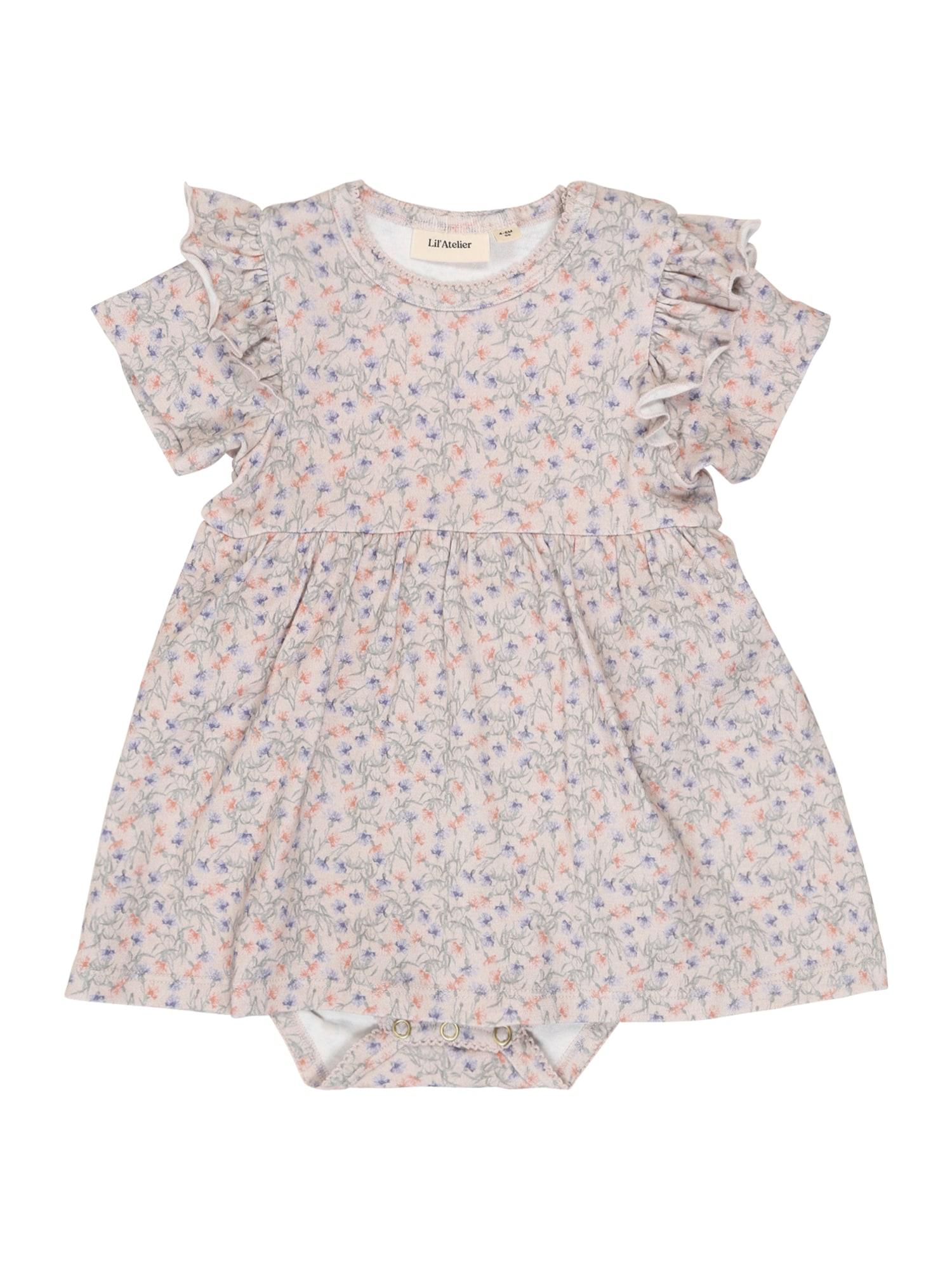NAME IT Suknelė mišrios spalvos / ryškiai rožinė spalva