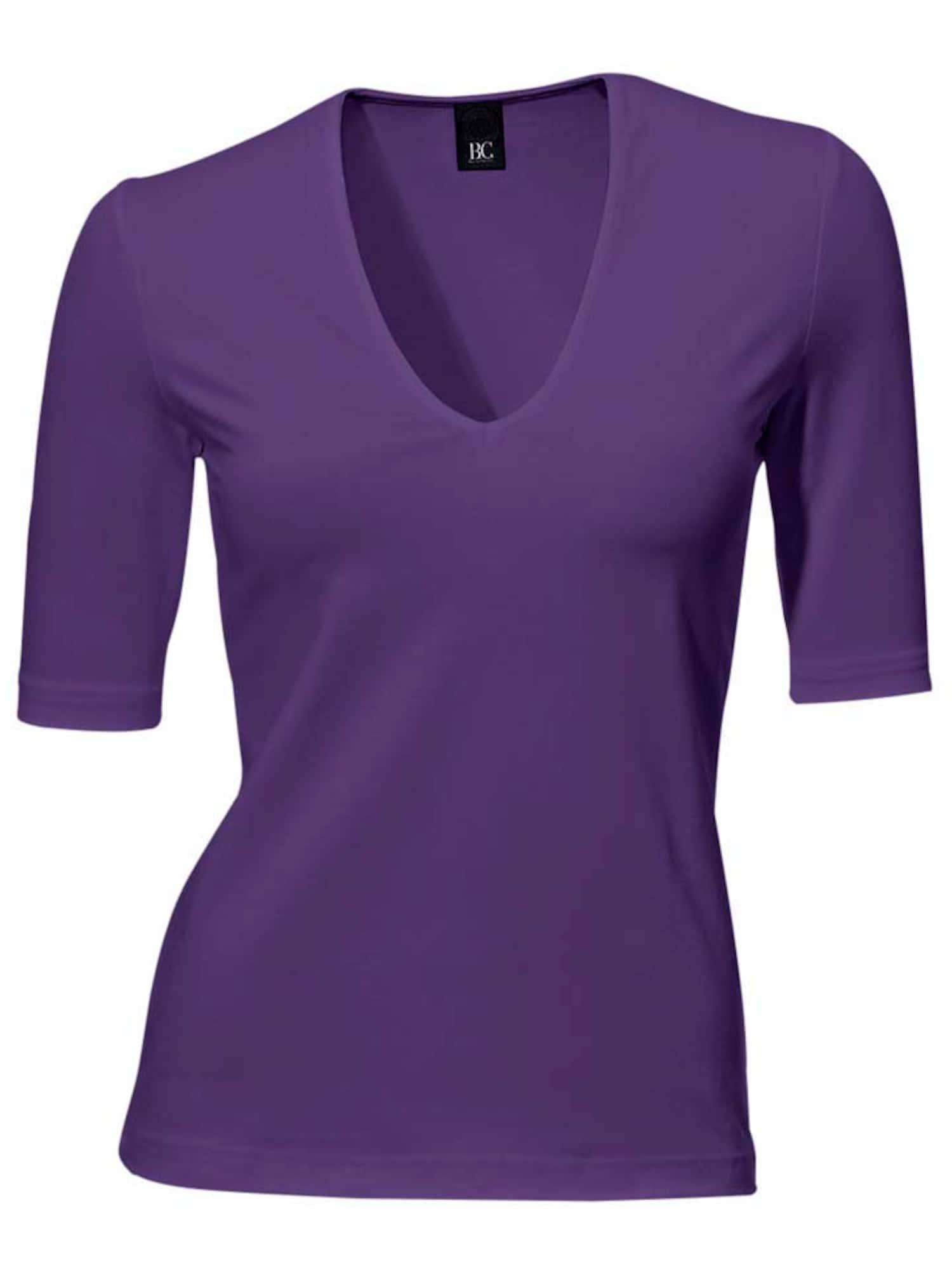 Ashley Brooke by heine Marškinėliai baklažano spalva