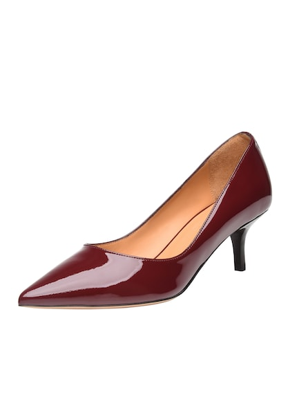 Pumps für Frauen - SHOEPASSION Pumps 'No. 1511' hellorange rot schwarz  - Onlineshop ABOUT YOU