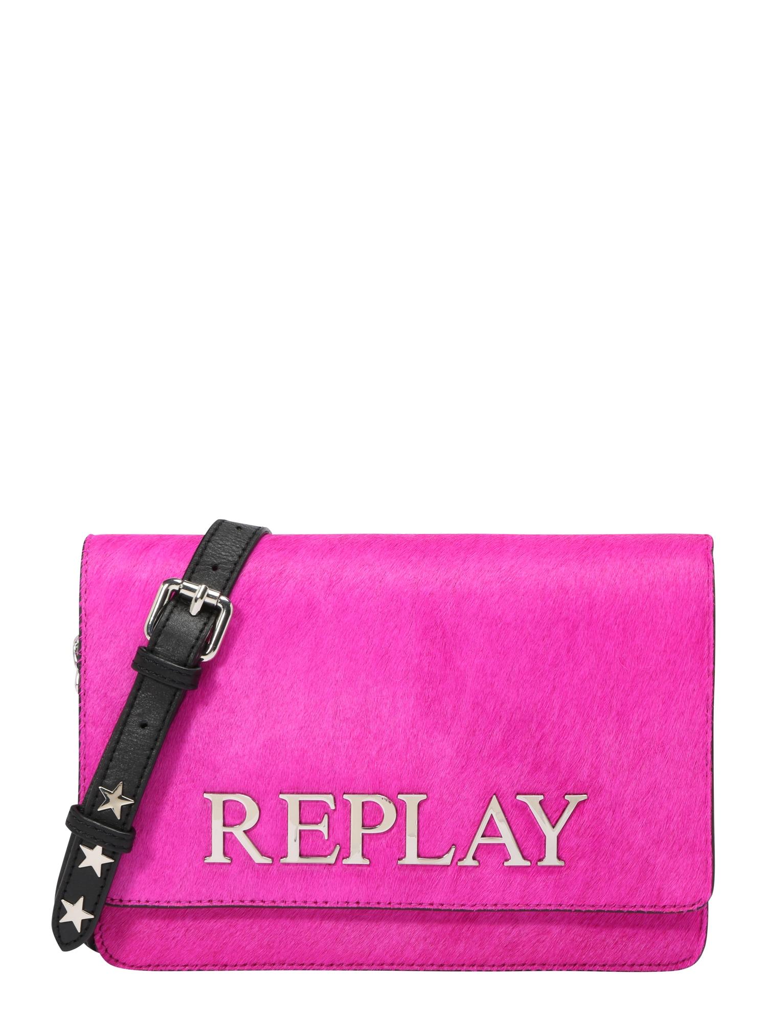 REPLAY Geantă de umăr 'Pink'  roz