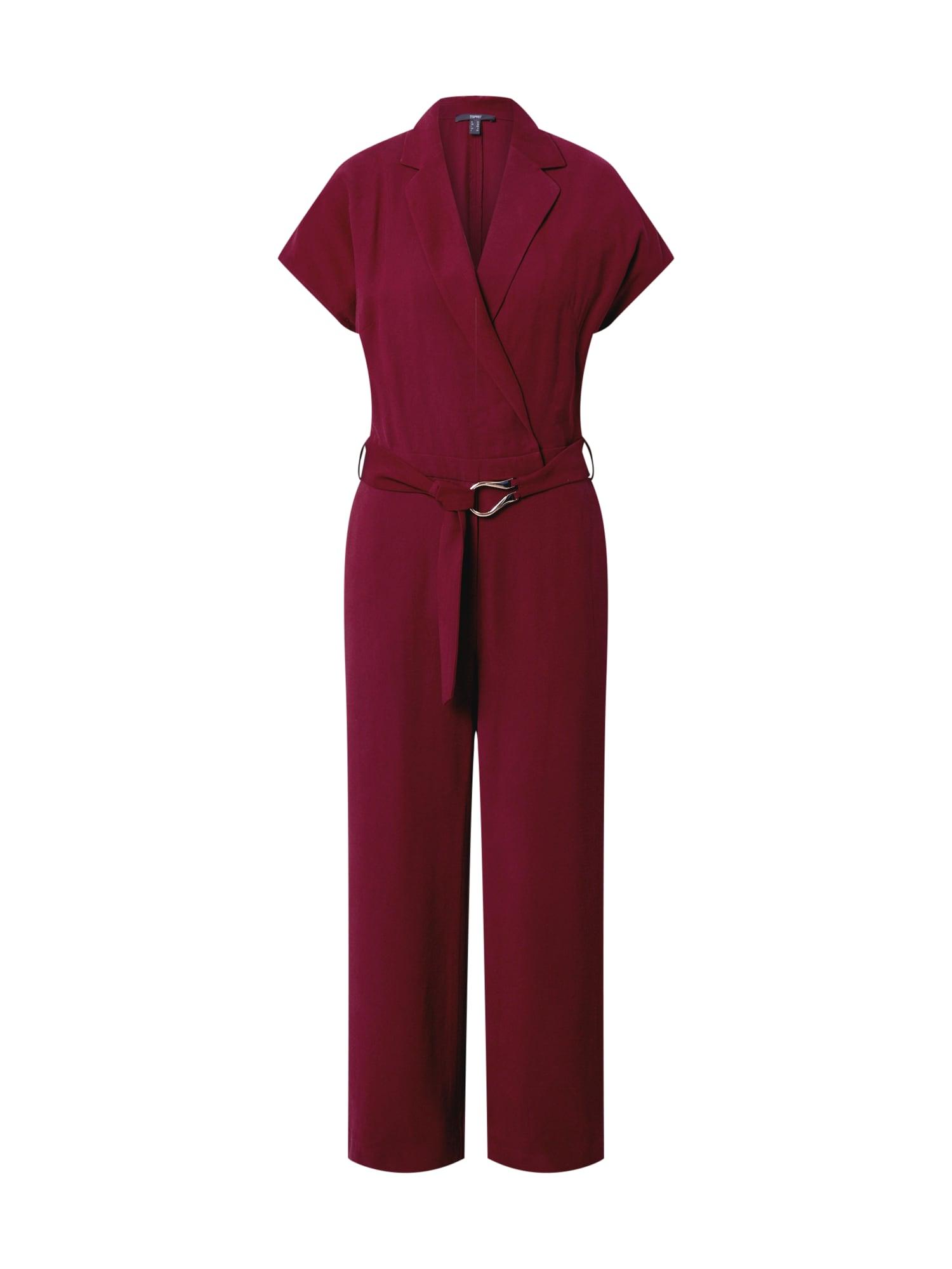 Esprit Collection Vienos dalies kostiumas vyšninė spalva