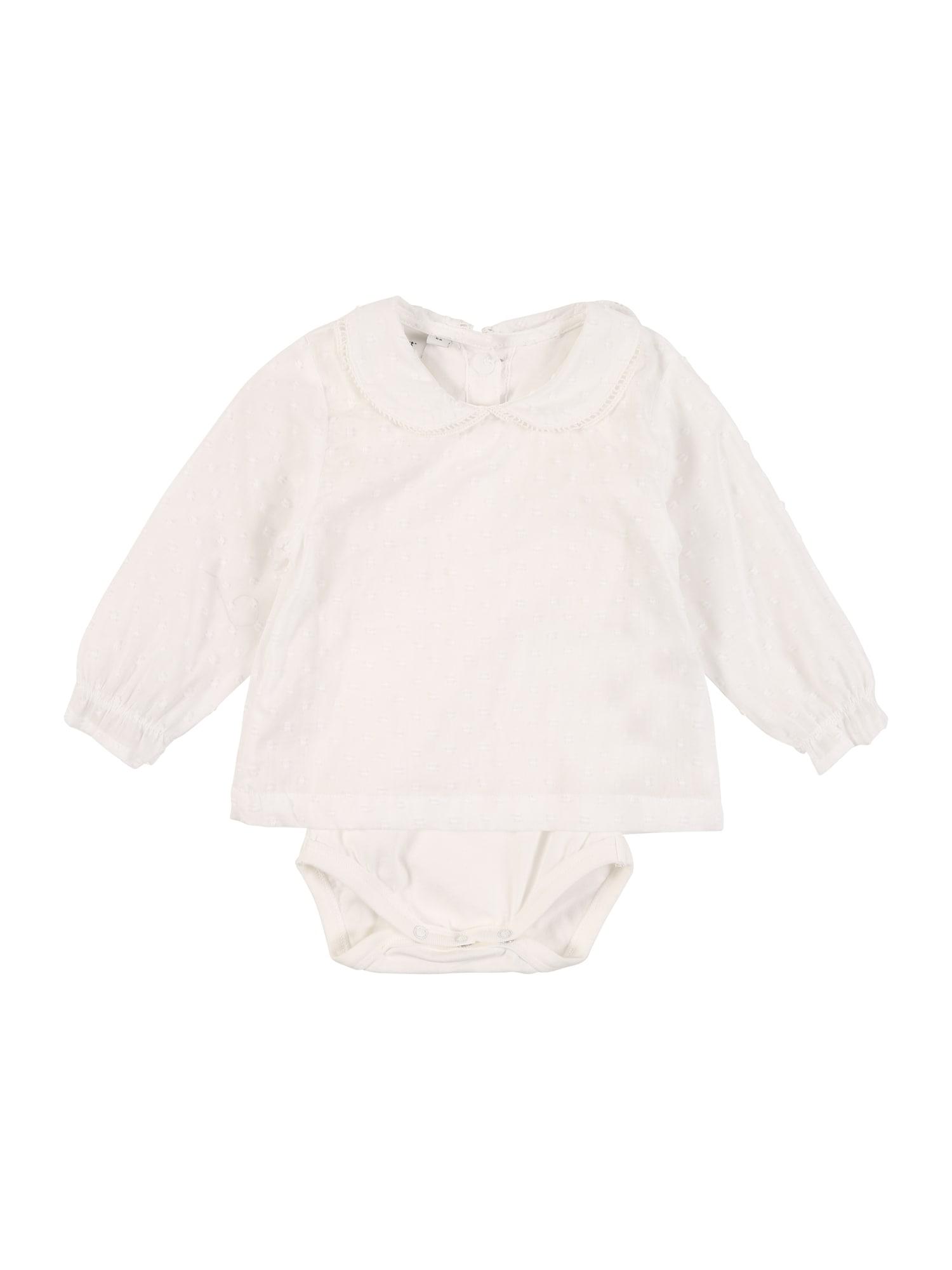 NAME IT Dalykiniai marškiniai balta