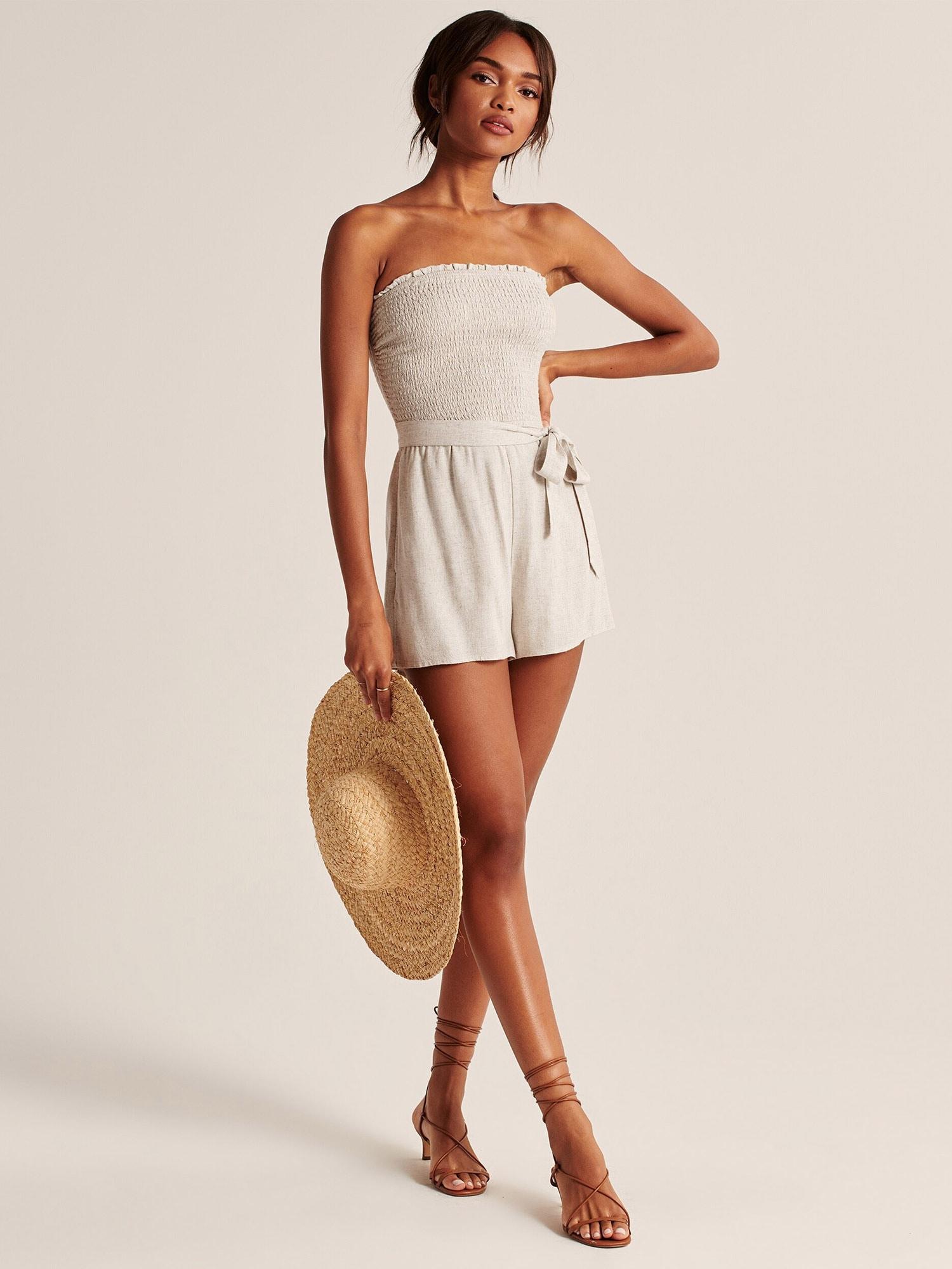 Abercrombie & Fitch Jumpsuit 'SAFARI'  beige