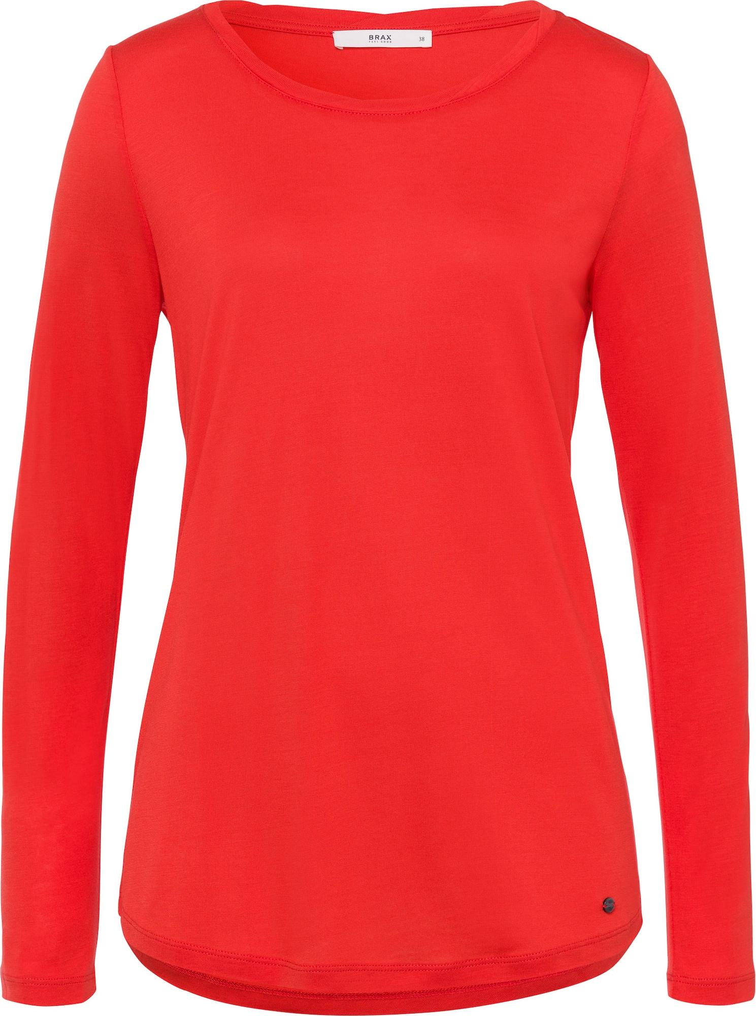 BRAX Marškinėliai 'Caren' šviesiai raudona