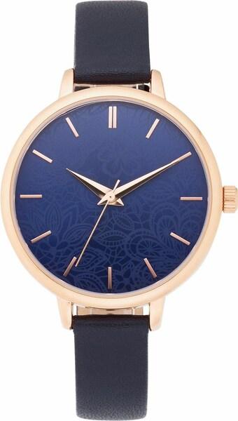 Uhren für Frauen - FIRETTI Quarzuhr blau rosegold  - Onlineshop ABOUT YOU