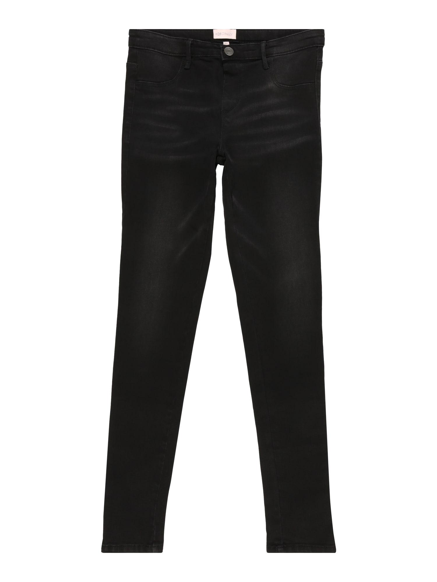 KIDS ONLY Džinsai 'JOANNA' juodo džinso spalva
