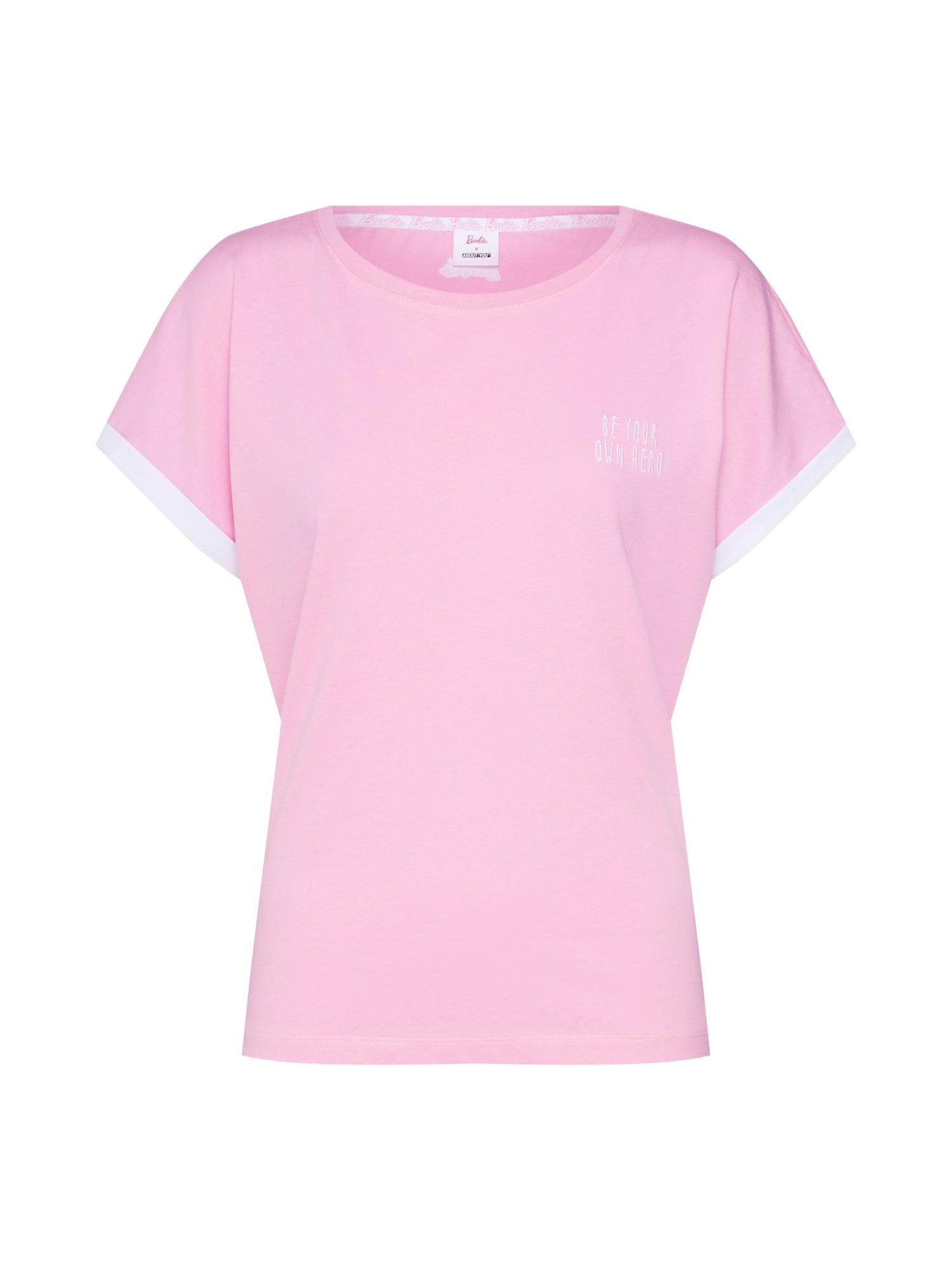 Tričko Fabienne pink ABOUT YOU X Barbie