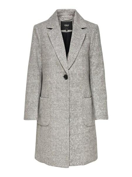 Jacken für Frauen - Mantel › ONLY › grau  - Onlineshop ABOUT YOU