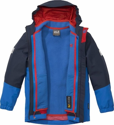 JACK WOLFSKIN 3-in-1-Funktionsjacke 'ICELAND 3in1' (Set, 2 tlg.)