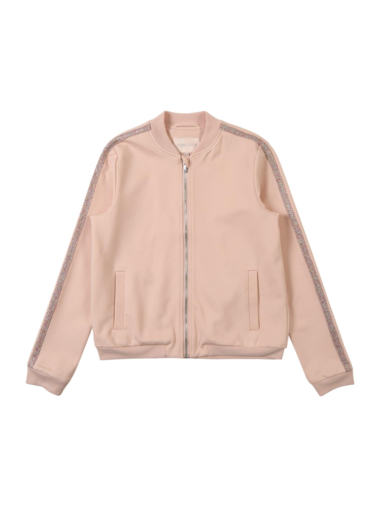 Přechodná bunda růžová KIDS ONLY