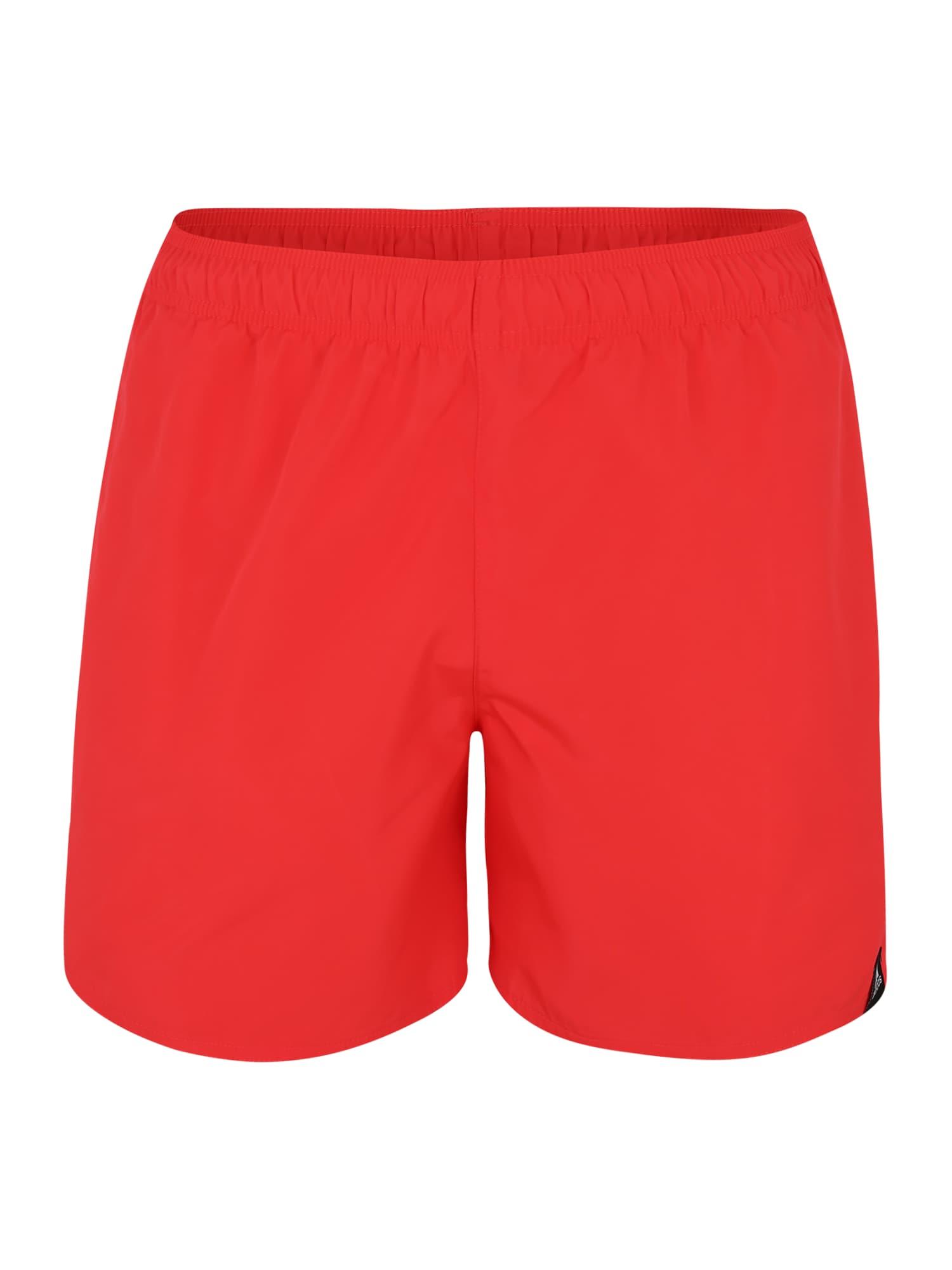 Sportovní plavky Solid pastelově červená ADIDAS PERFORMANCE