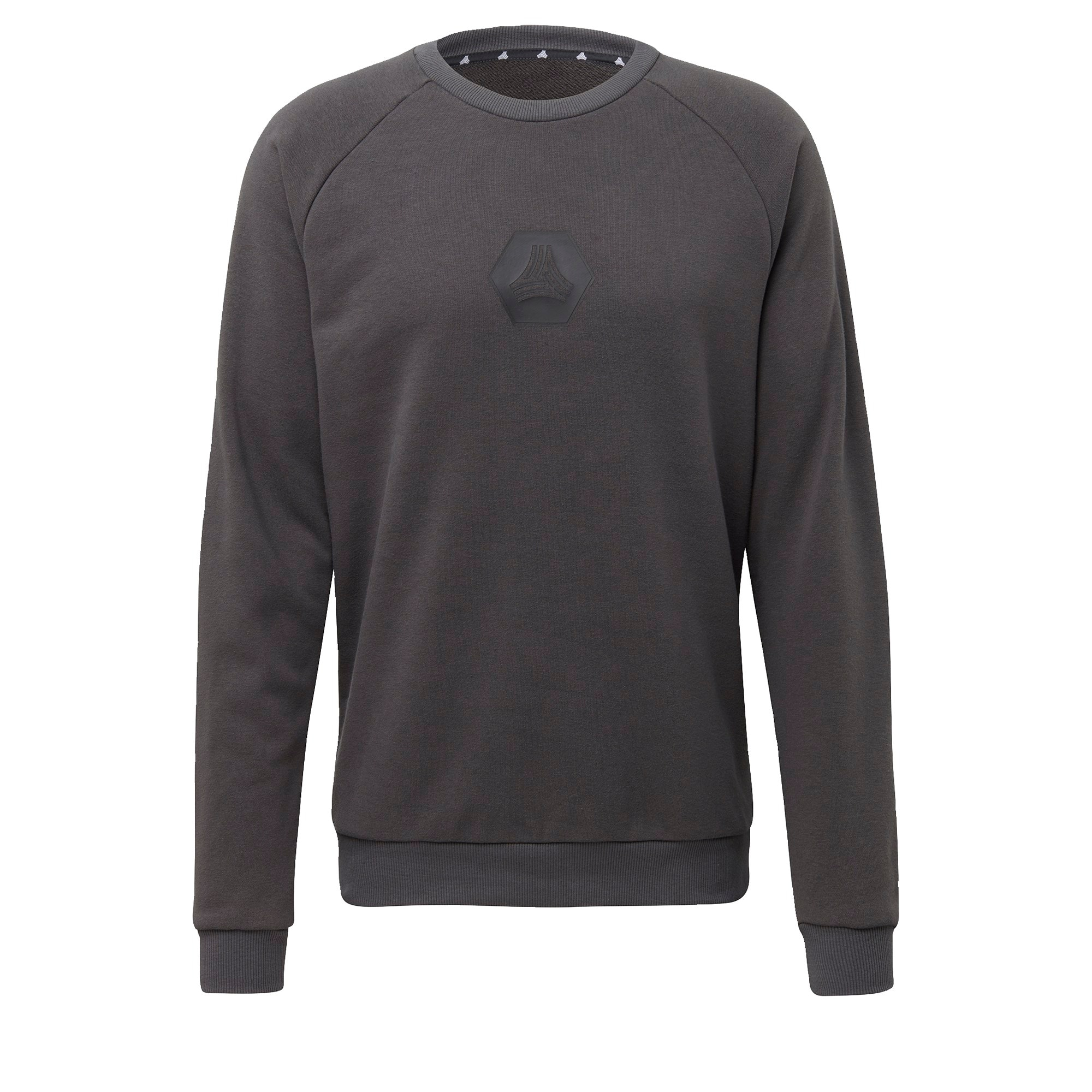 ADIDAS PERFORMANCE Sportinio tipo megztinis juoda / tamsiai pilka