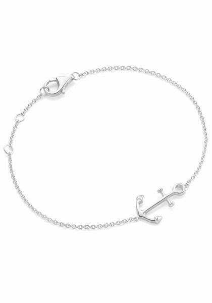 Armbaender für Frauen - FIRETTI Silberarmband 'Anker' silber  - Onlineshop ABOUT YOU