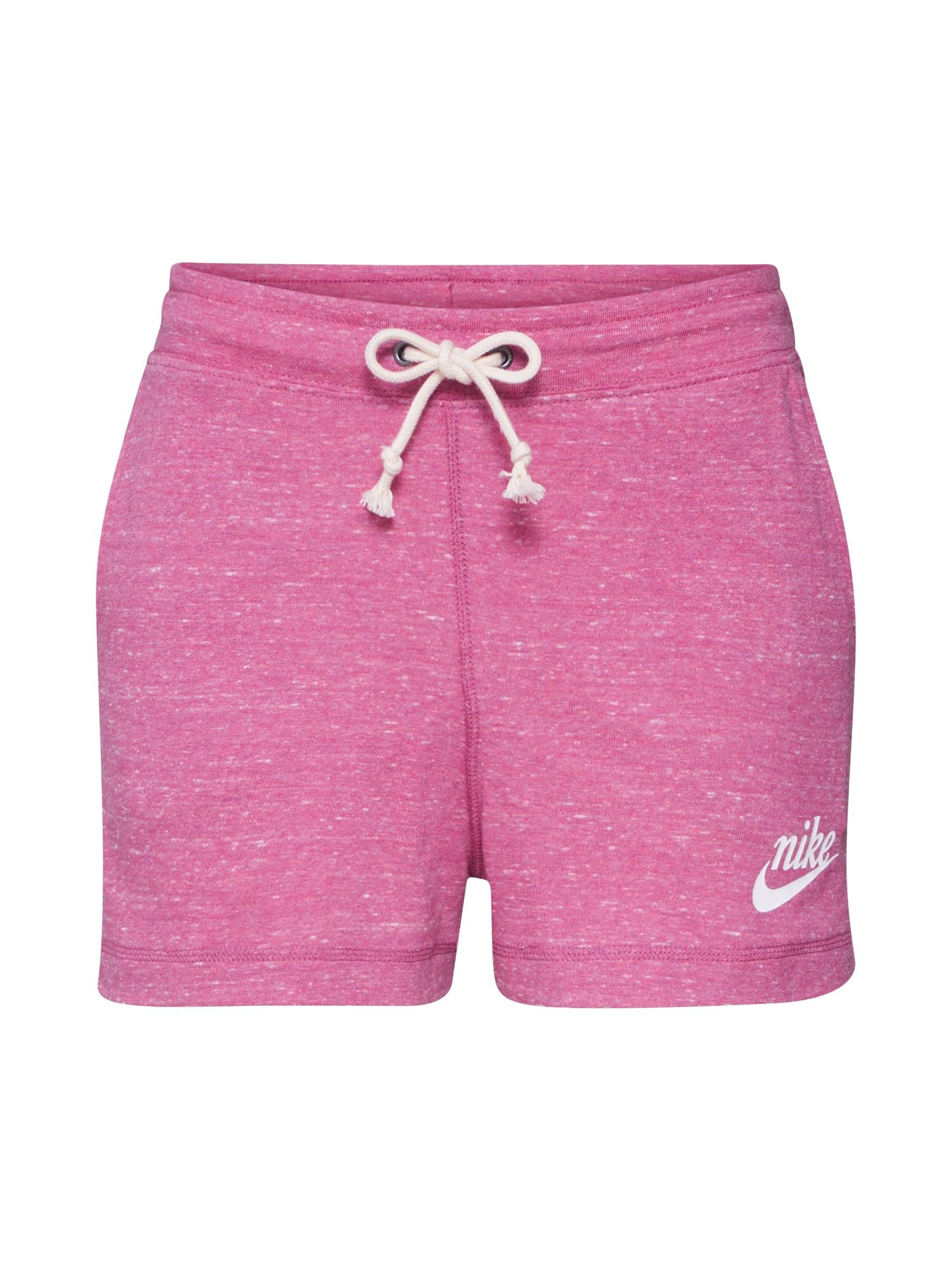 Nike Sportswear Kelnės 'GYM VNTG SHORT' rožinė