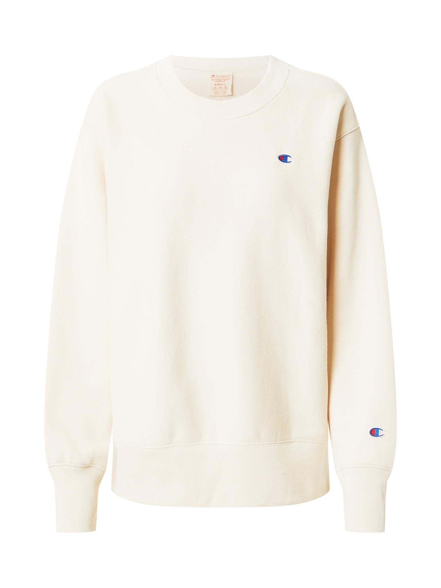 Champion Reverse Weave Megztinis be užsegimo smėlio spalva