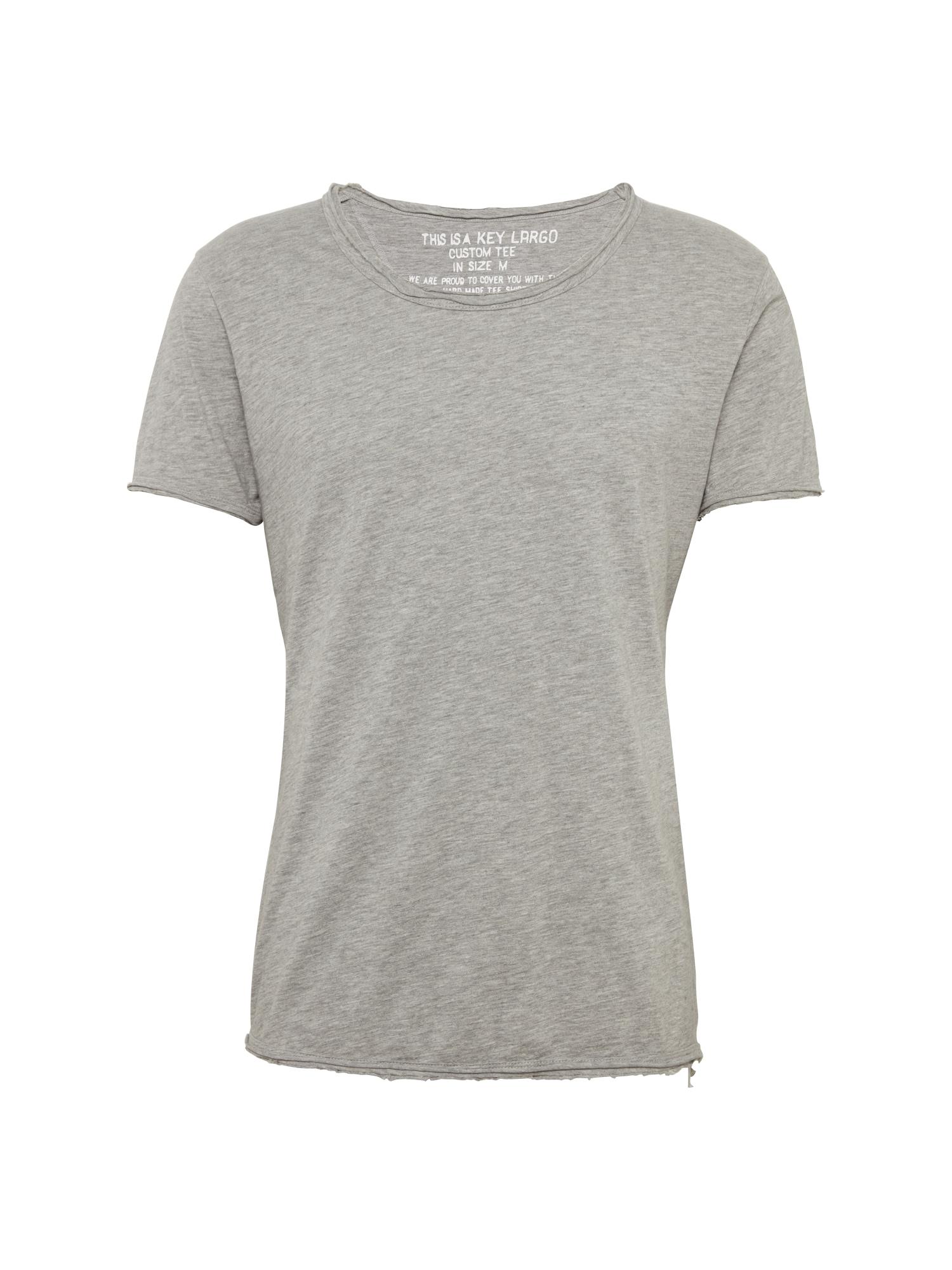 Tričko T BREAD šedá Key Largo