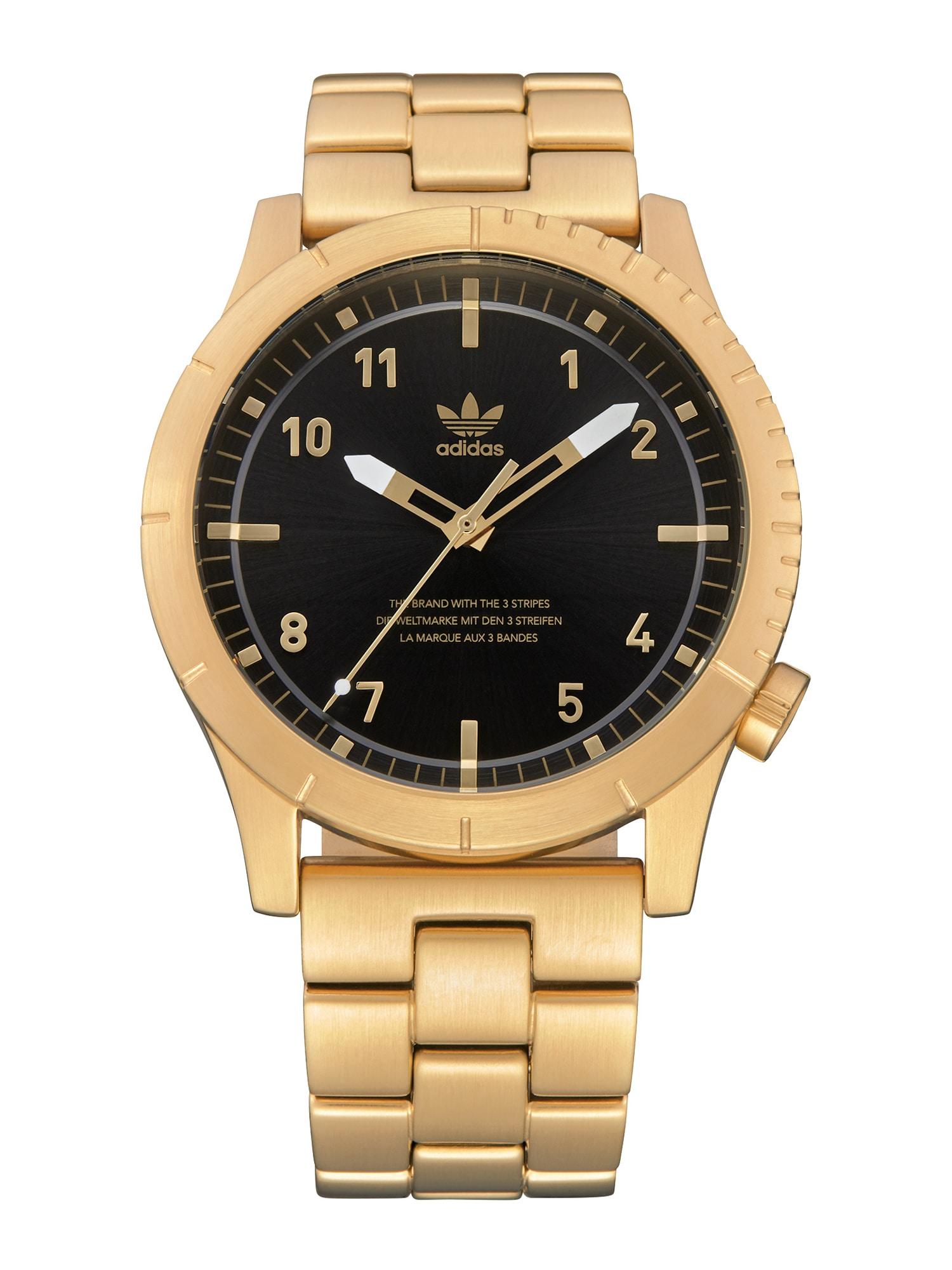 ADIDAS ORIGINALS Analoginis (įprastinio dizaino) laikrodis 'Cypher_M1' auksas