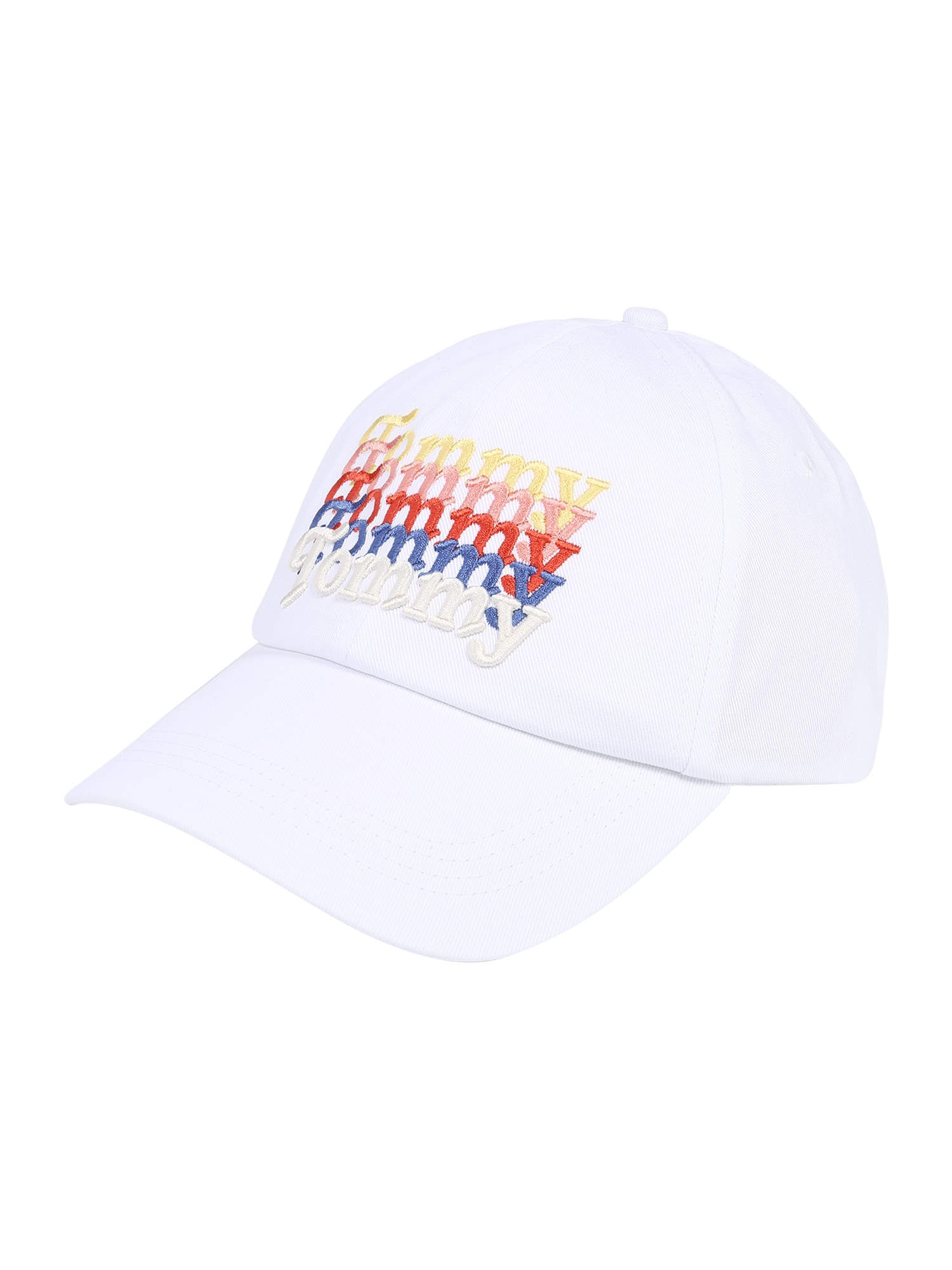 Tommy Jeans Kepurė 'TJW ITEM GRAPHIC CAP' balta