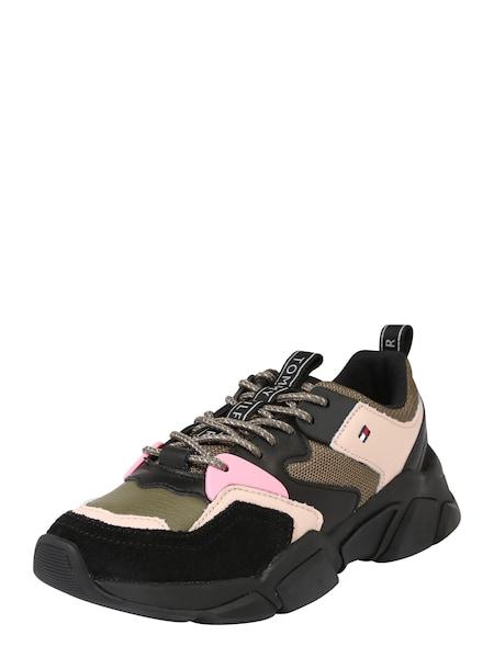 Sneakers für Frauen - Sneaker 'Wmns Billy 3c' › Tommy Hilfiger › stone schwarz  - Onlineshop ABOUT YOU