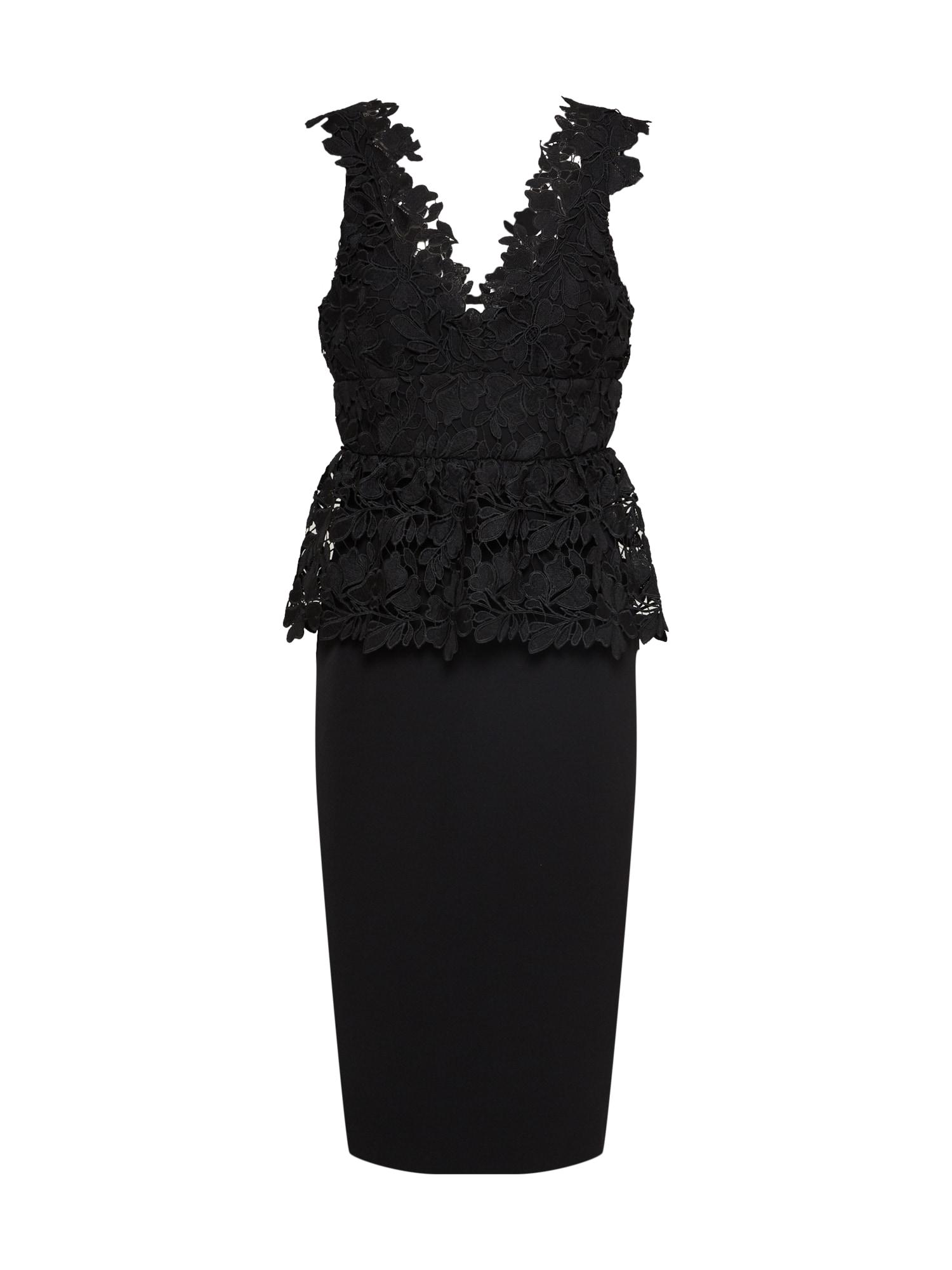 Bardot Kokteilinė suknelė juoda