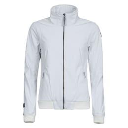 ICEPEAK Damen Softshelljacke mit hohem Kragen weiß | 06438384674557