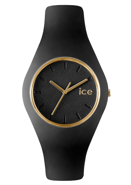 Uhren für Frauen - ICE WATCH Armbanduhr 'ICE GLAM Black, ICE.GL.BK.U.S.13' gold schwarz  - Onlineshop ABOUT YOU