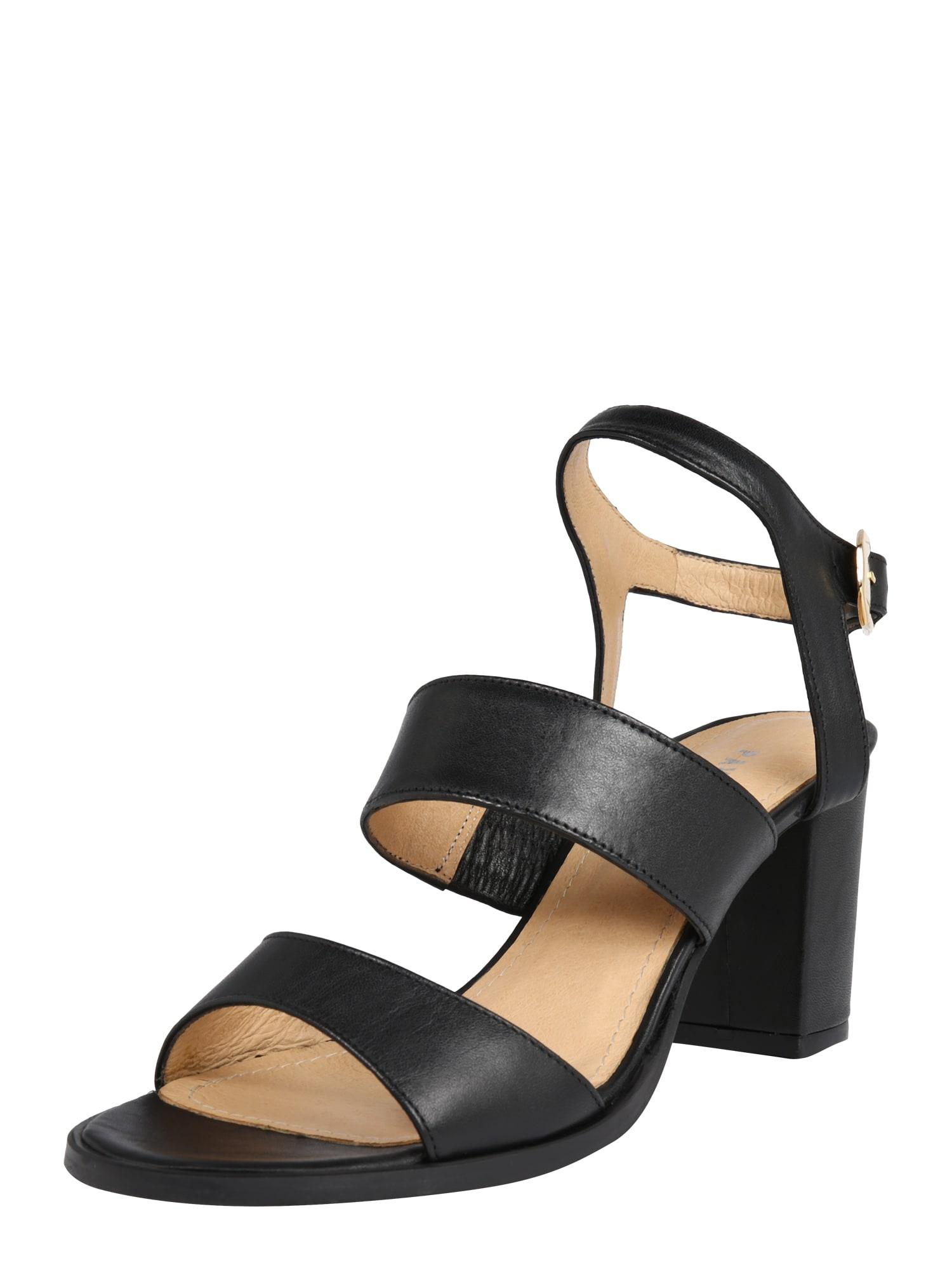 PAVEMENT Remienkové sandále 'River'  čierna